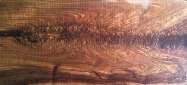 Flame Black Walnut slab