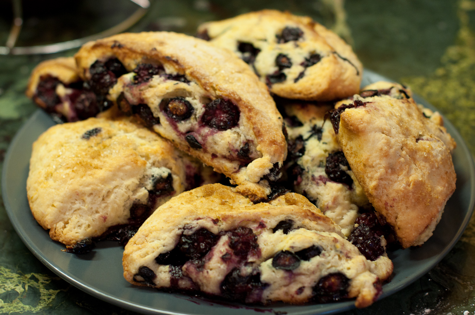 Finished Berry Scones