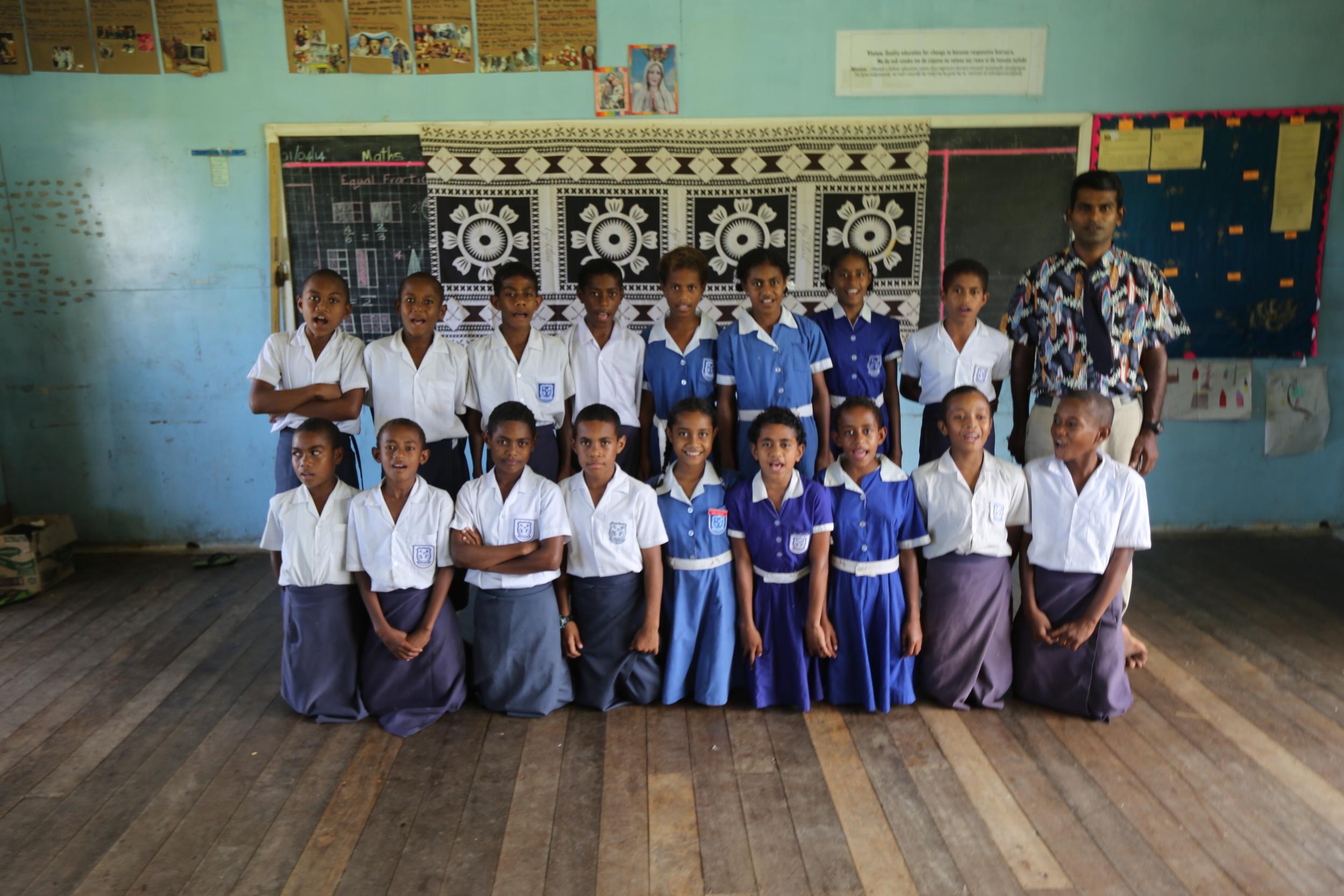 The wonderful people of Naweni school.