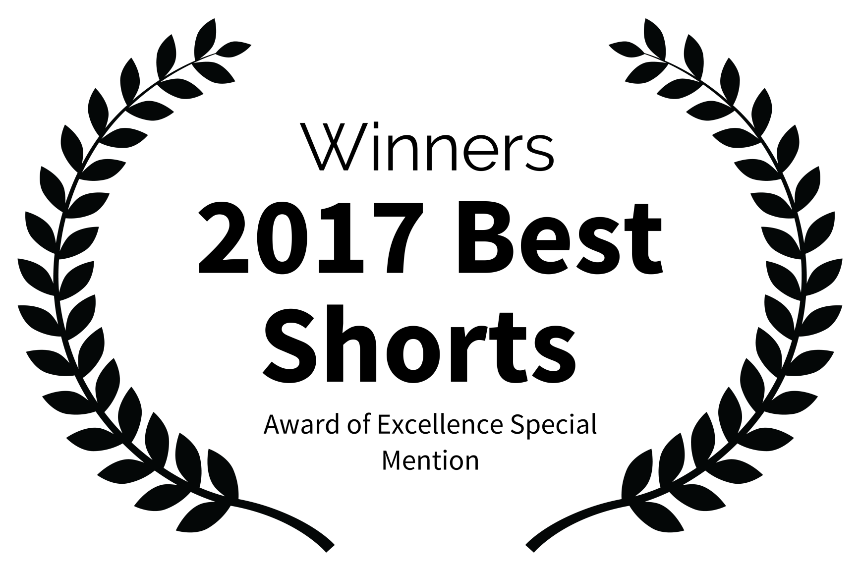 Winners - 2017 Best Shorts  - Award of Excellence Special Mention.png