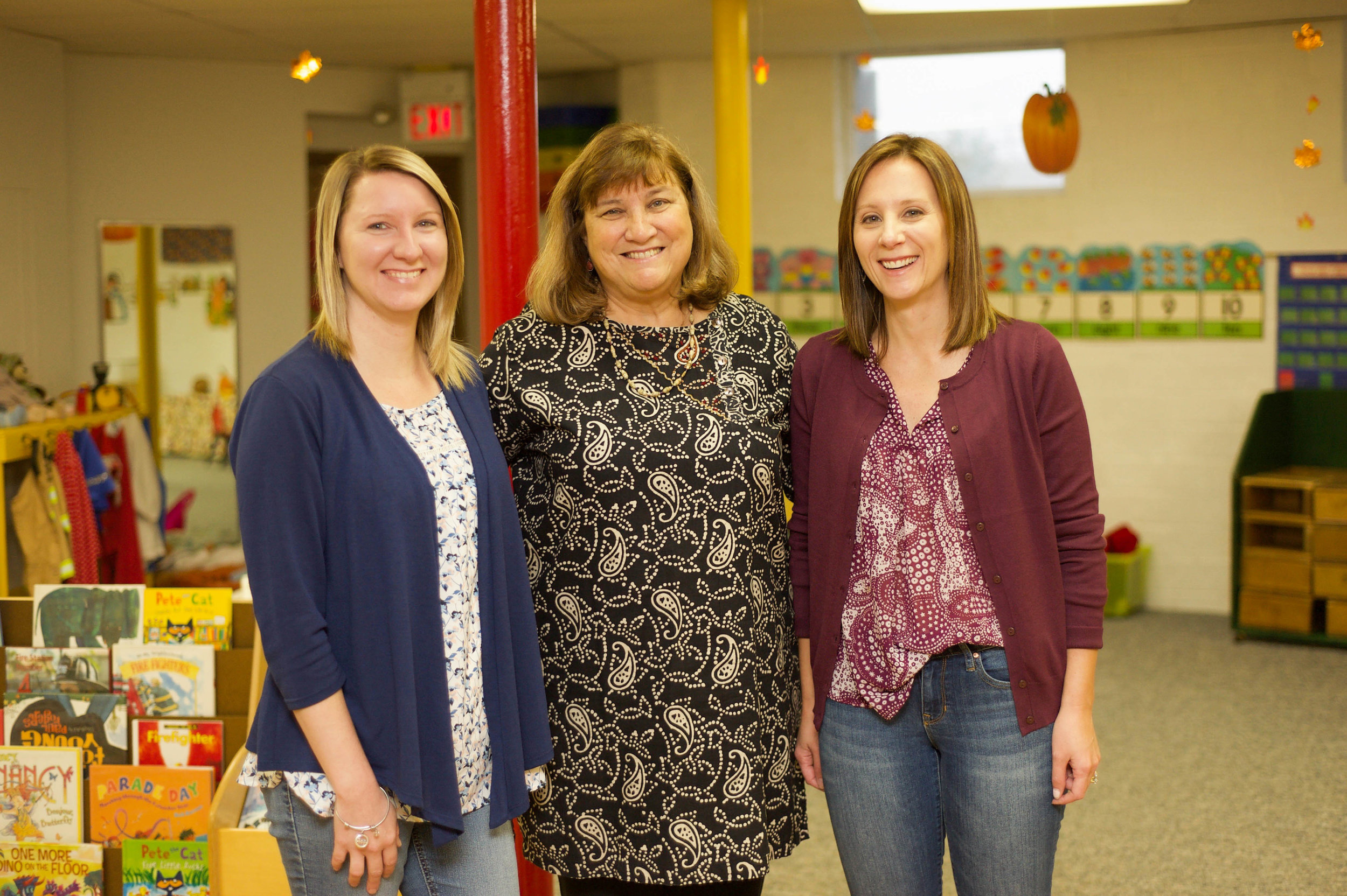 Meet the Team - Susie Miller, Cammie Elick, and Kelly King