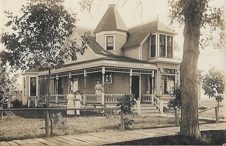 2nd Generation  - Home built by David's grandpa in Arlington, South Dakota, in 1915