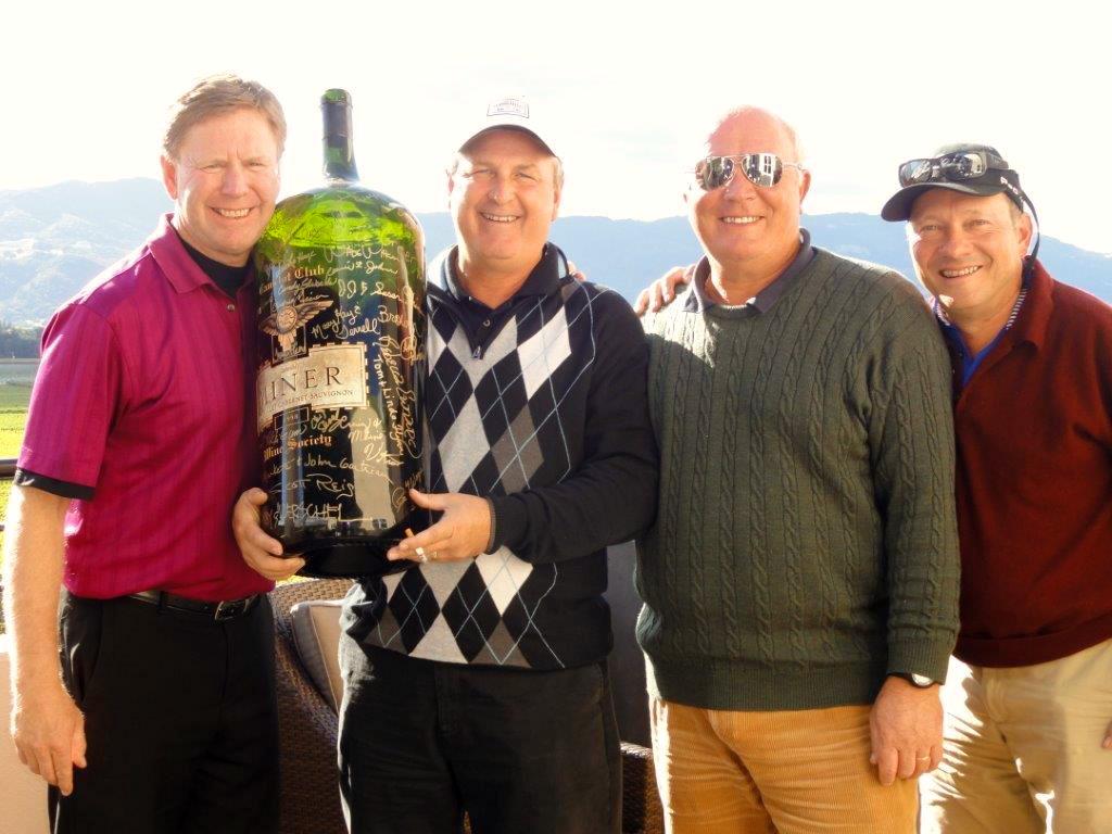Winners of the Golf Vino California Golf & Wine Tournament