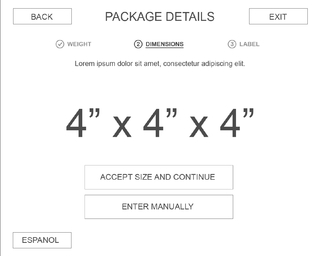 Package Details -