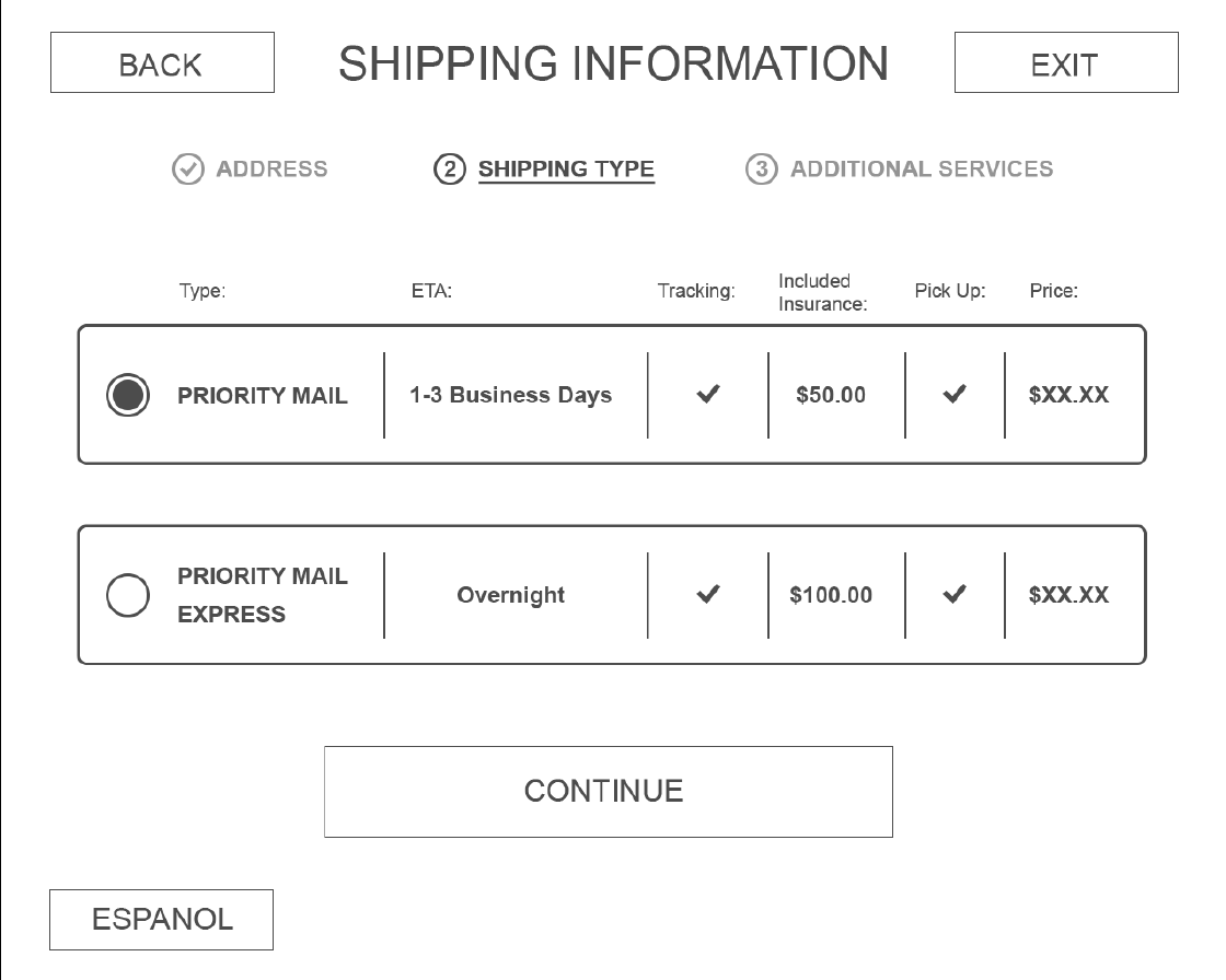 Shipping Information -