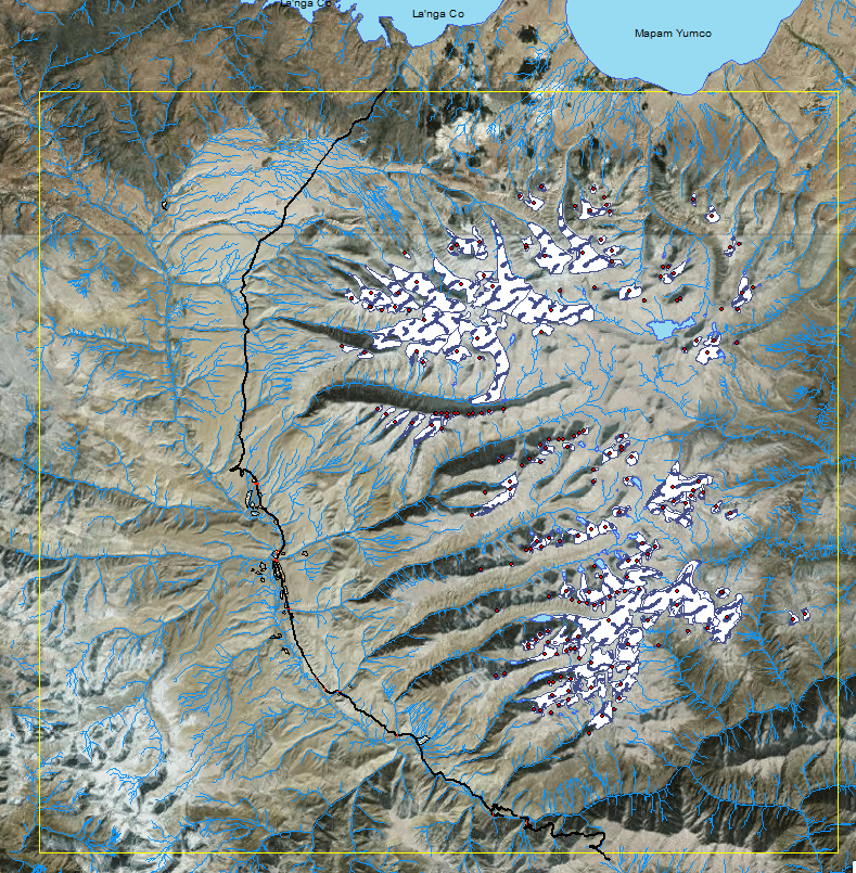 Glacial Lakes from 2015.