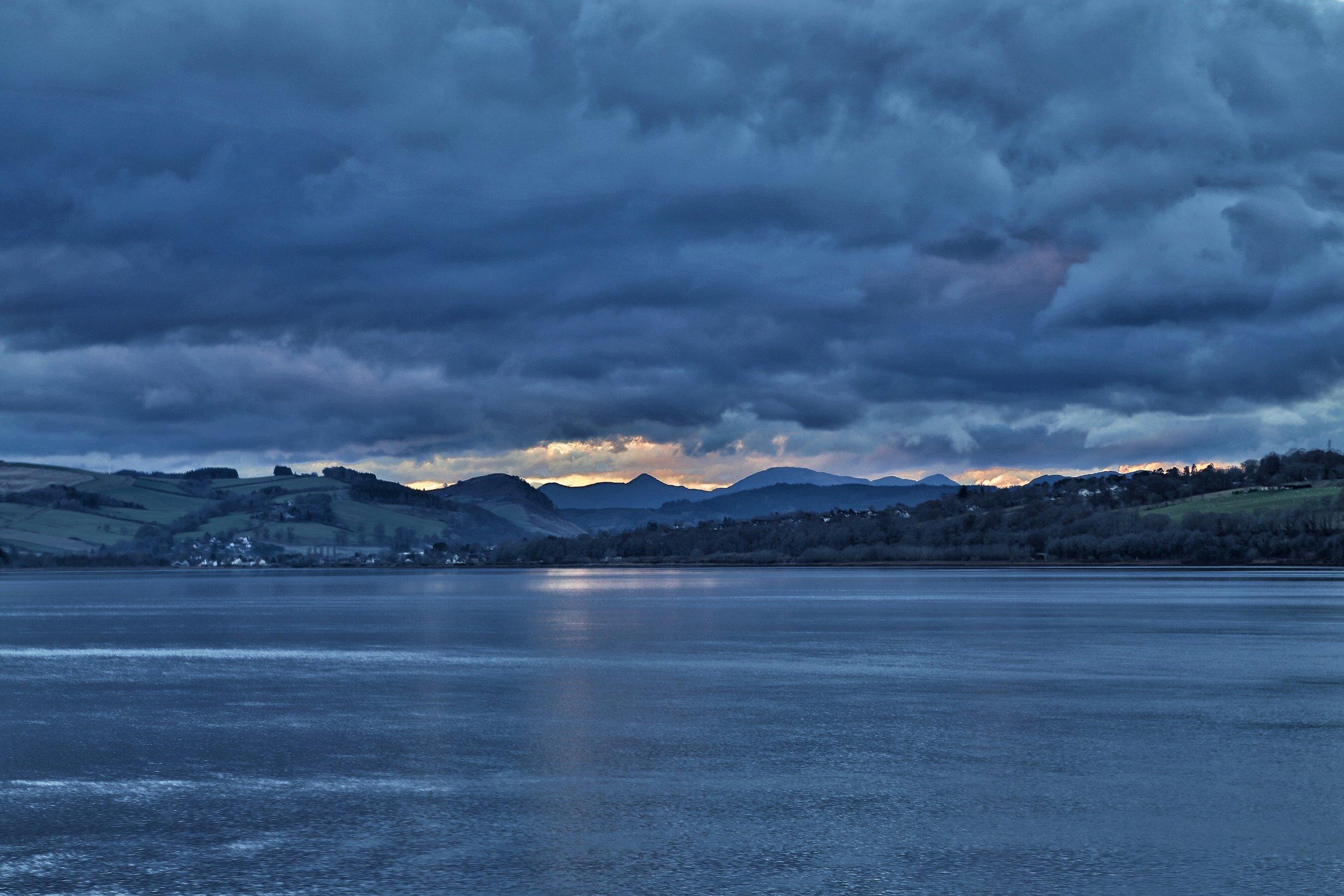 Dornoch Firth, looking West