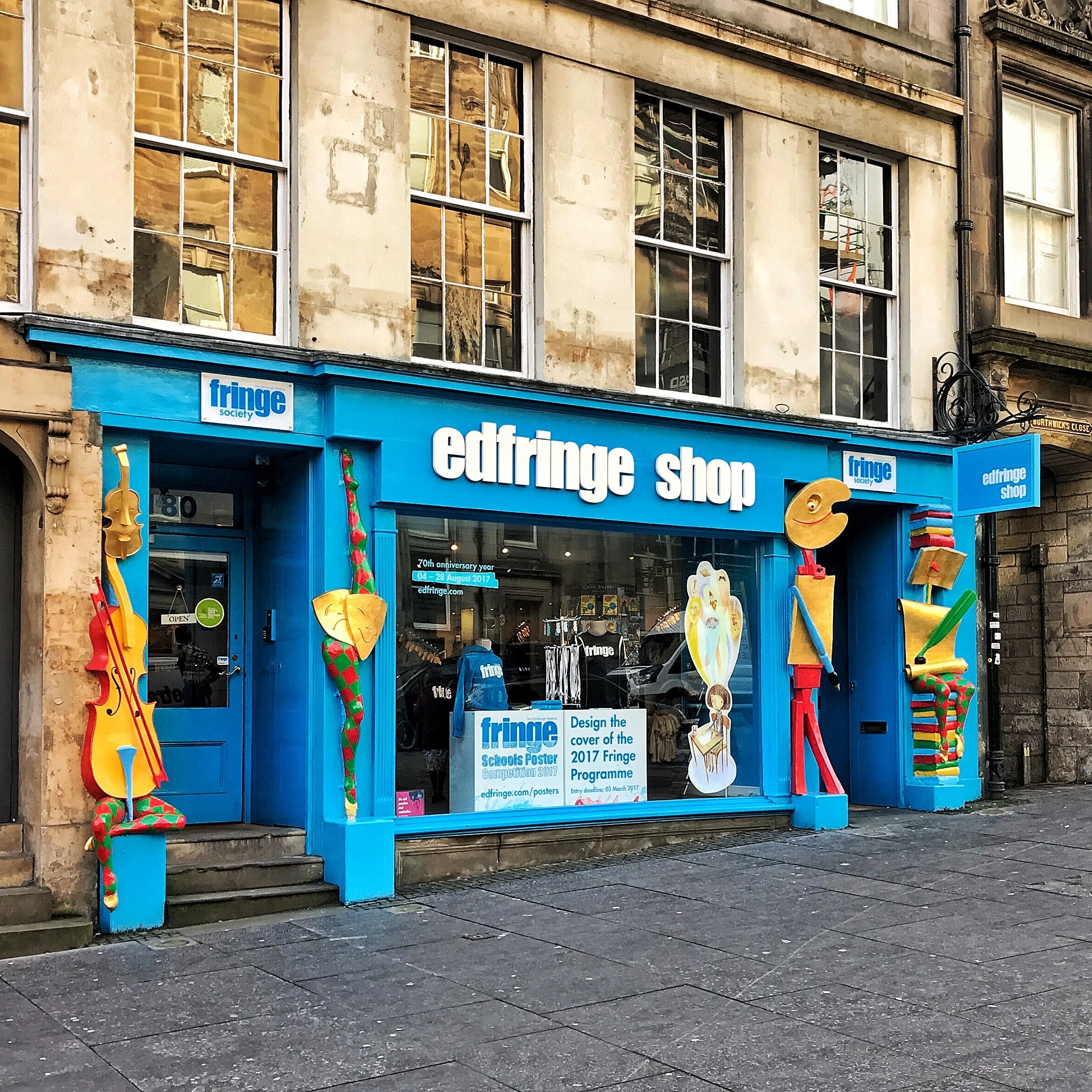 Edinburgh Fringe Shop