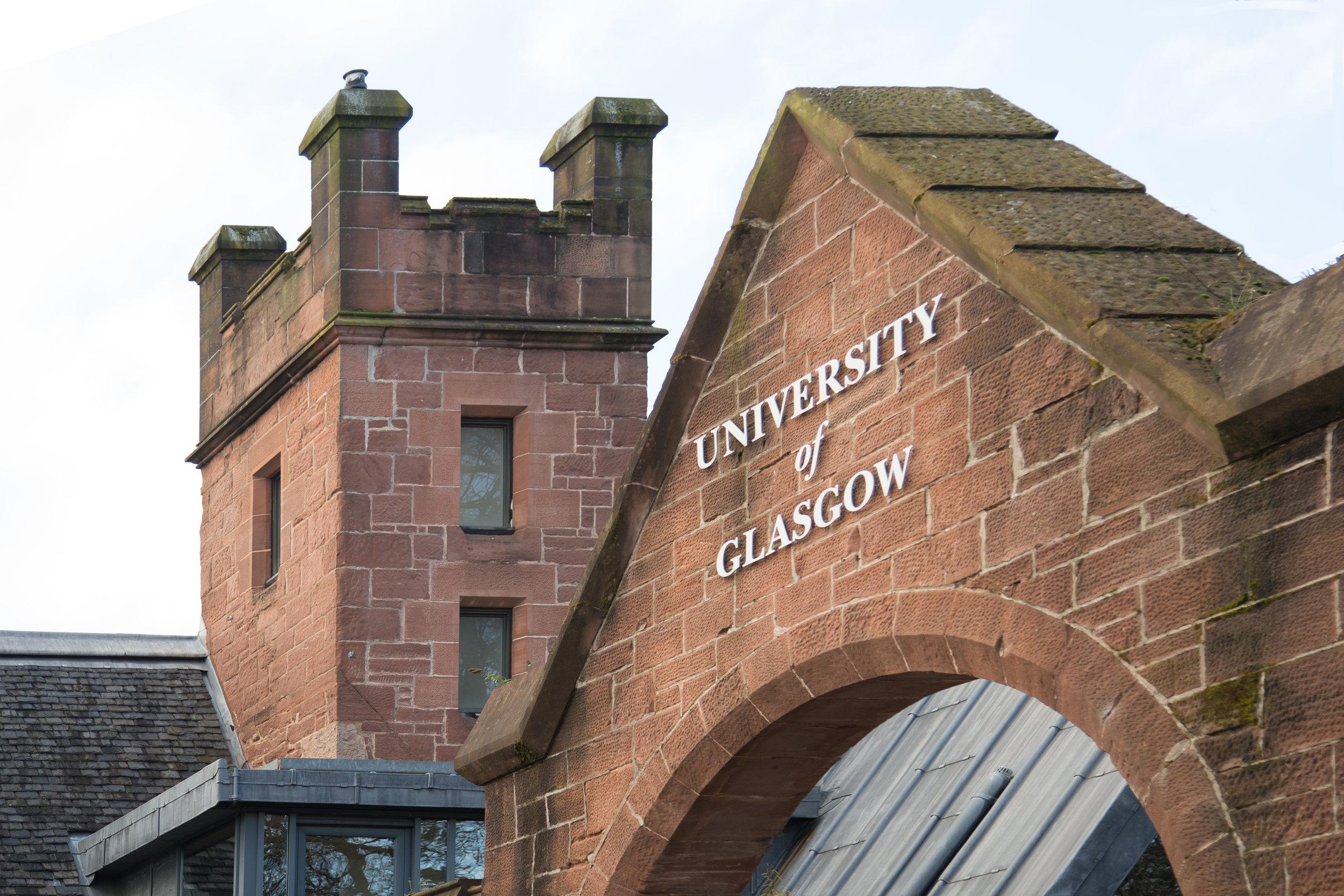 University of Glasgow Gate
