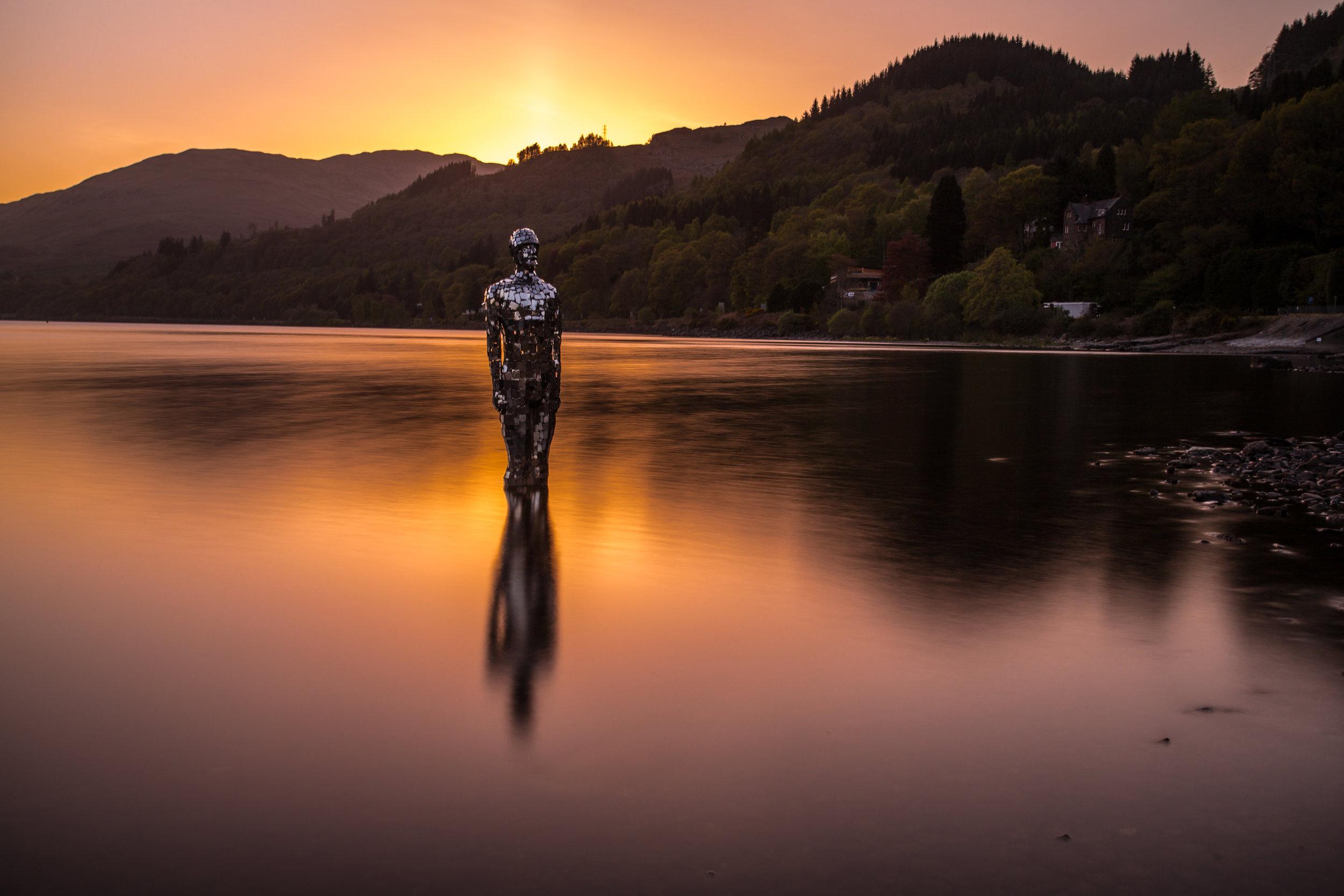 Sunset on Loch Earn