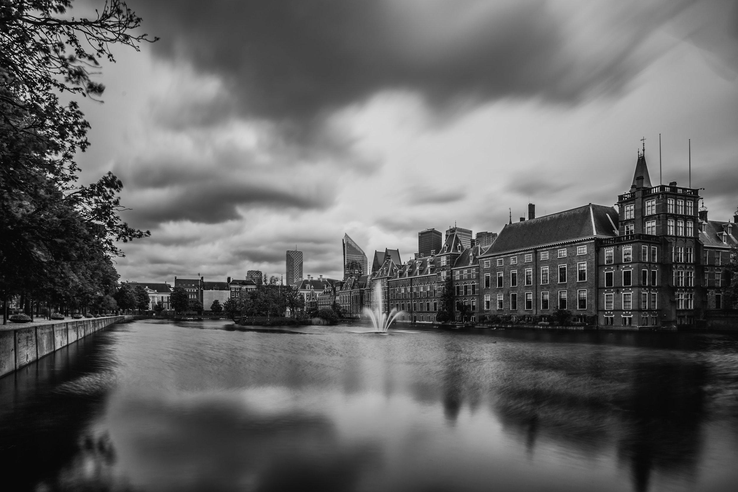 The Hague, Buitenhof (Black and White)