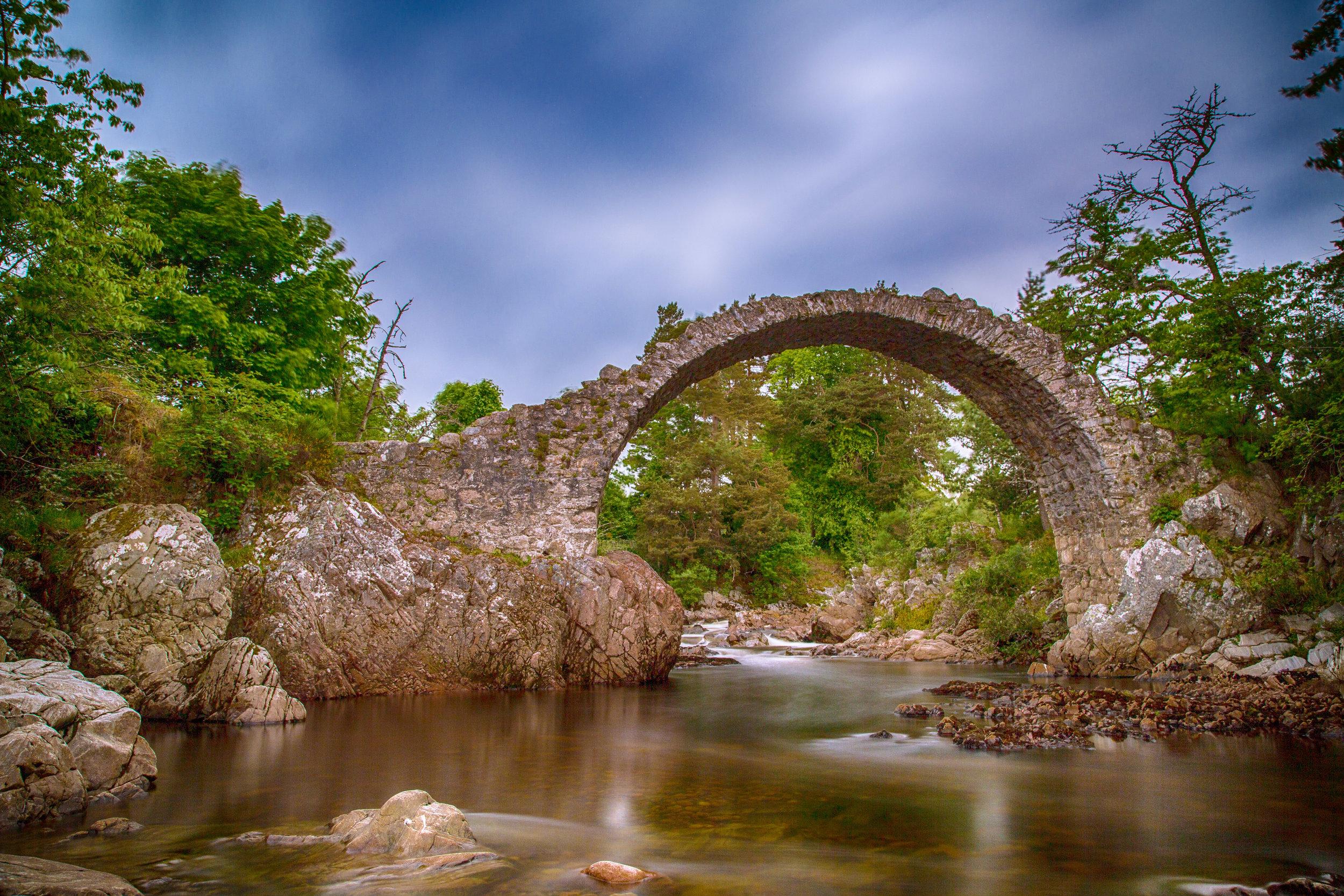 Carrbridge - The old bridge