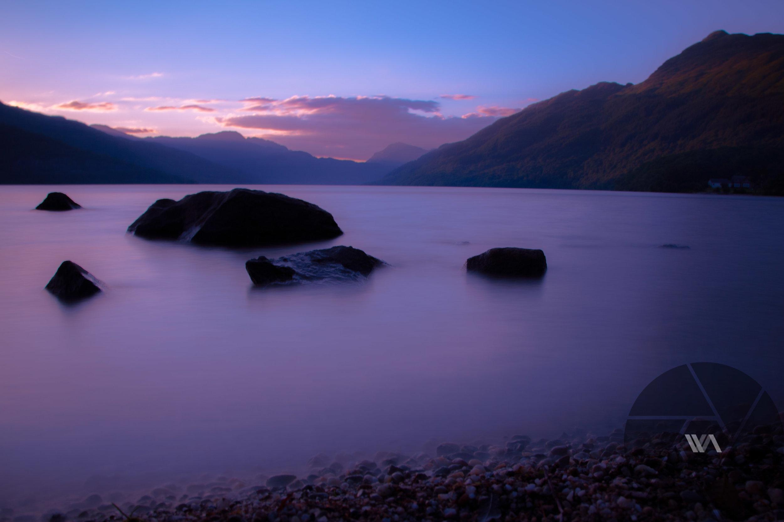 Long exposure at Loch Lomond