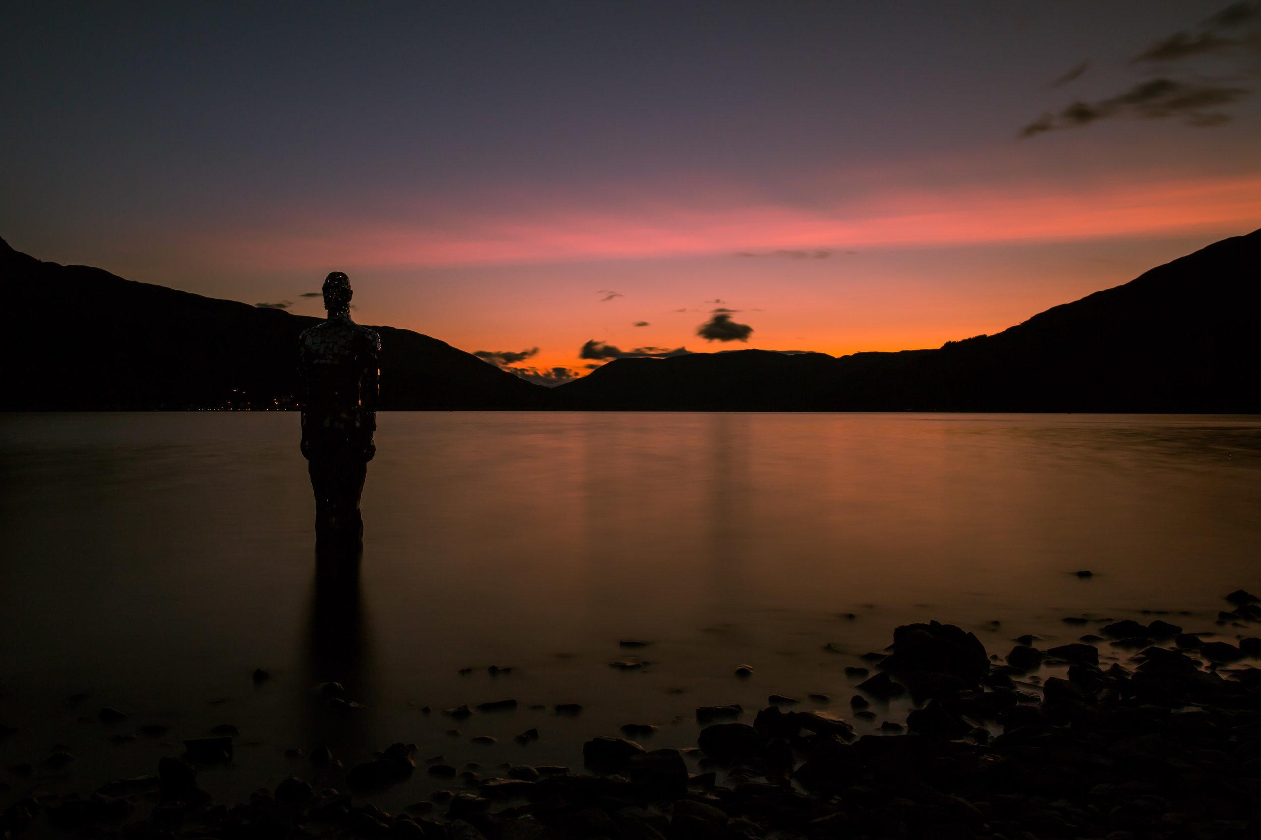 Dusk at Still, Loch Earn