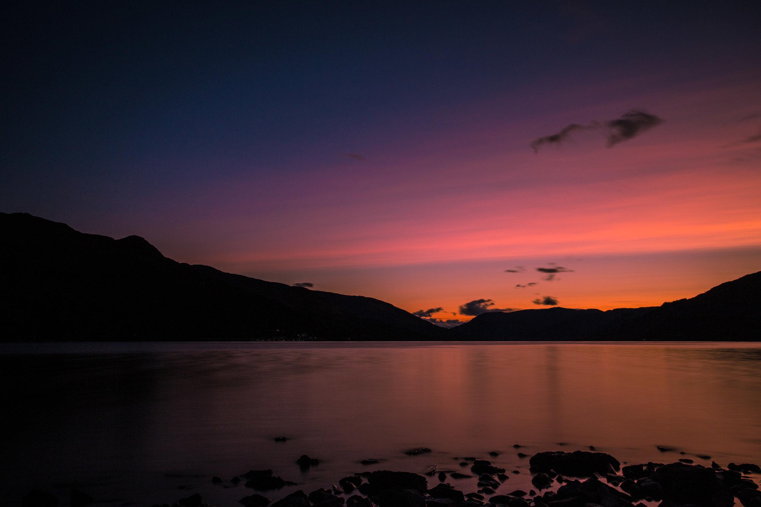 A still Loch Earn