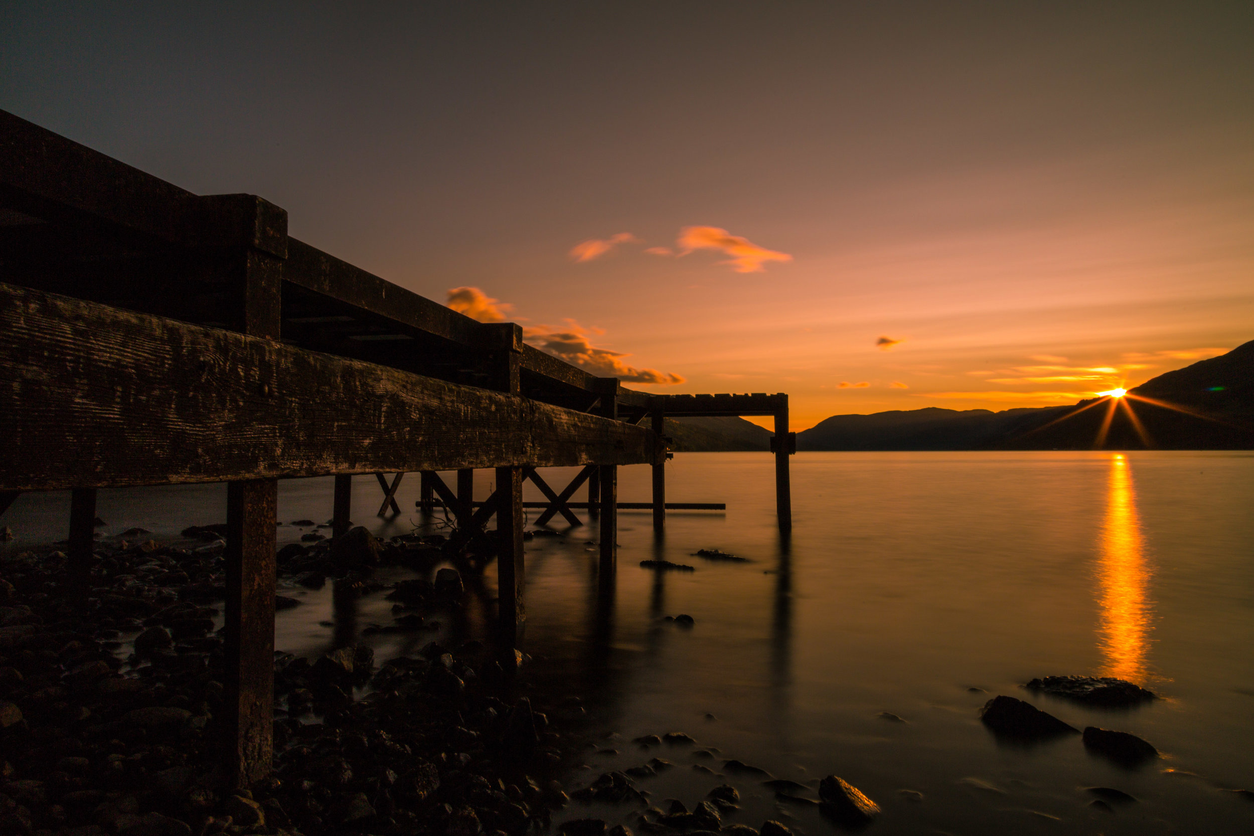 The Jetty at Loch Earn