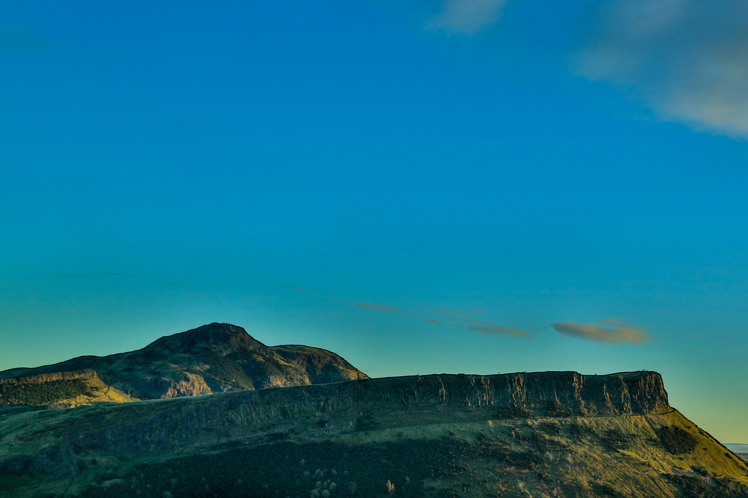 Arthurs Seat and Salisbury Crags