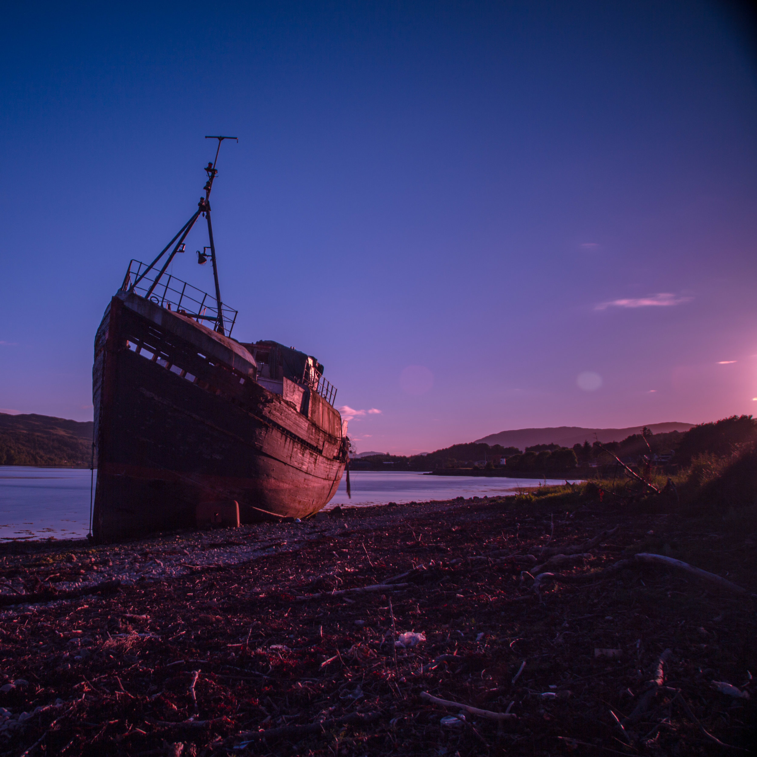 Abandoned Boat, Corpach