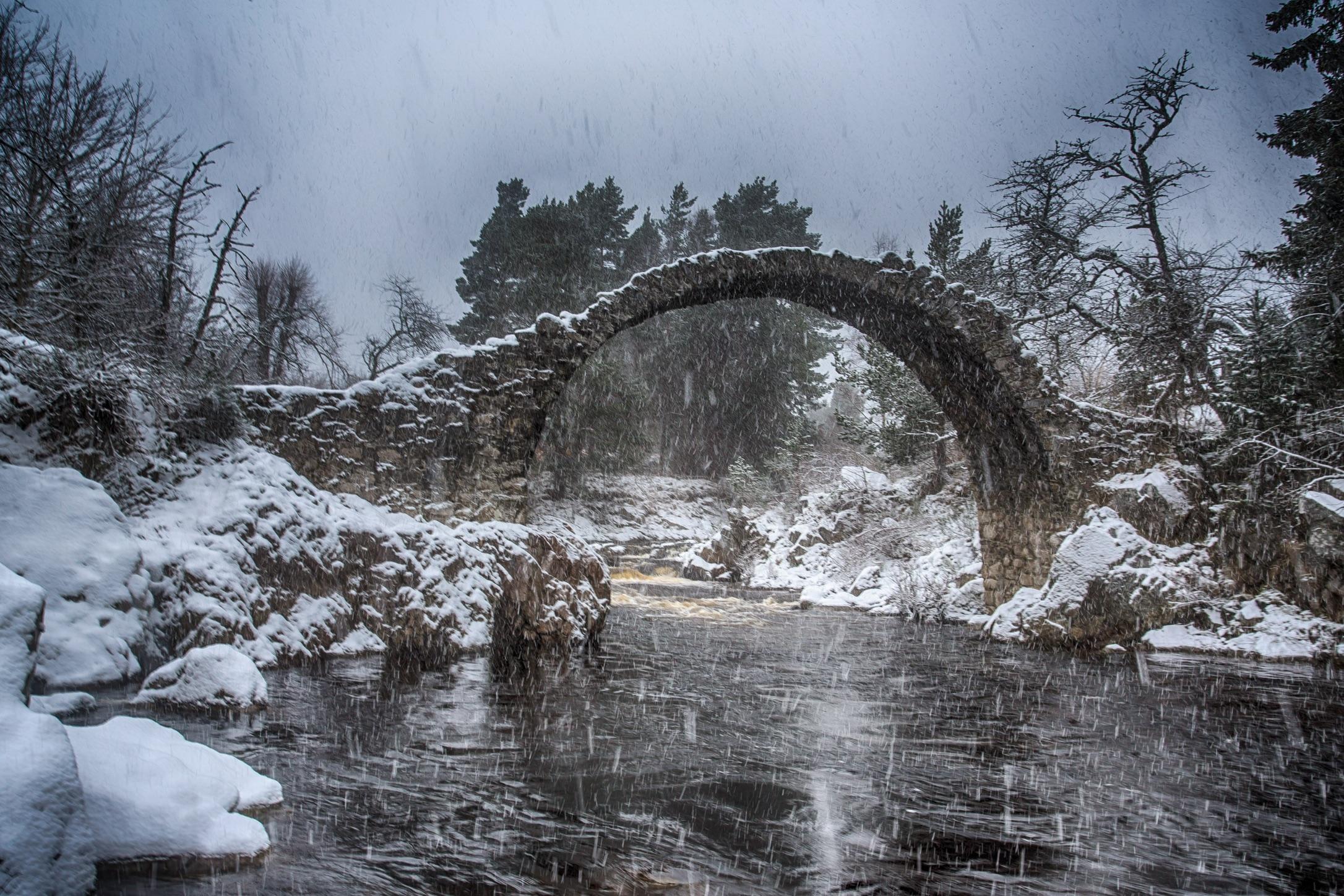 Carrbridge old bridge