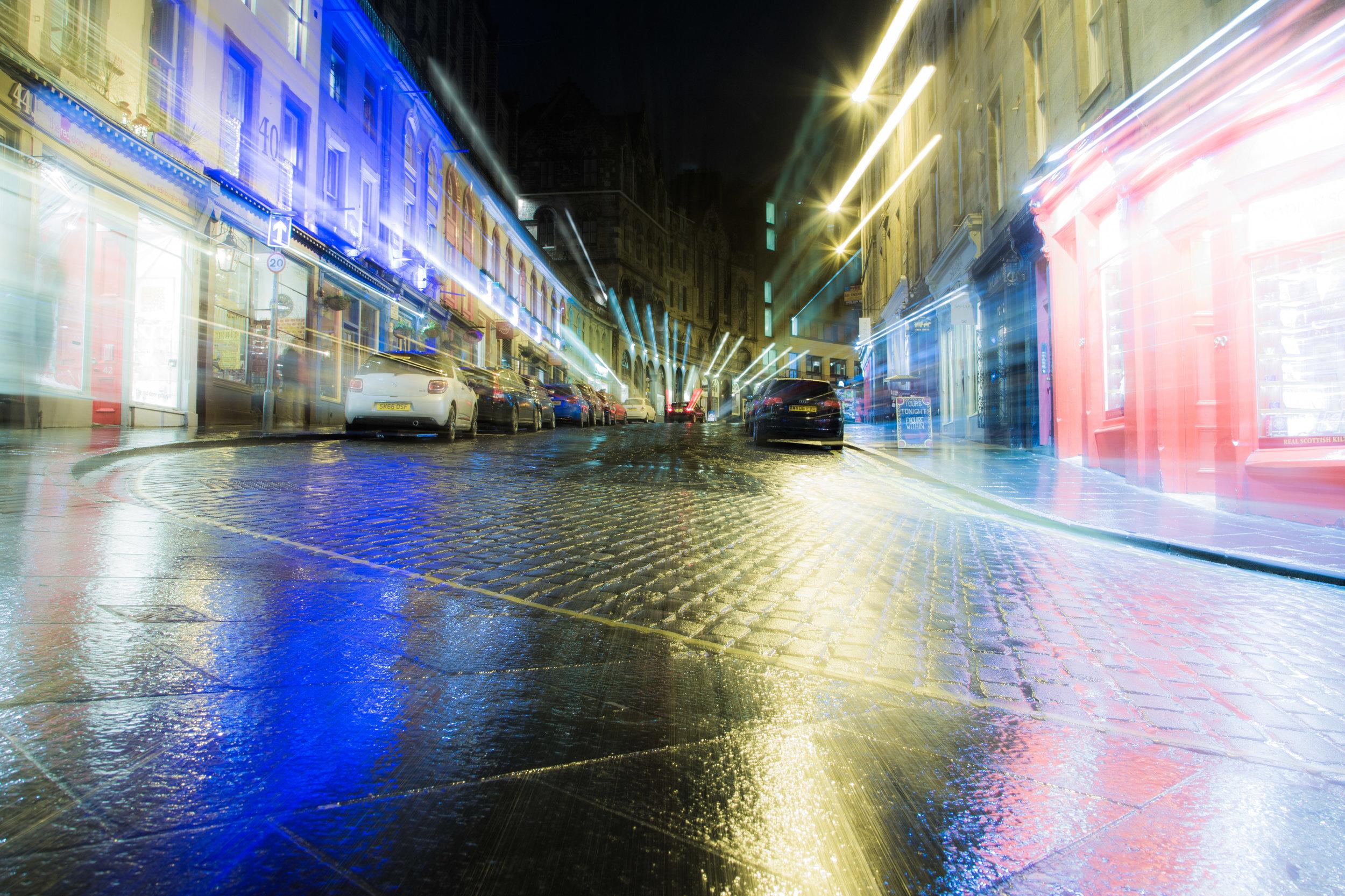 Light speed on Victoria Street