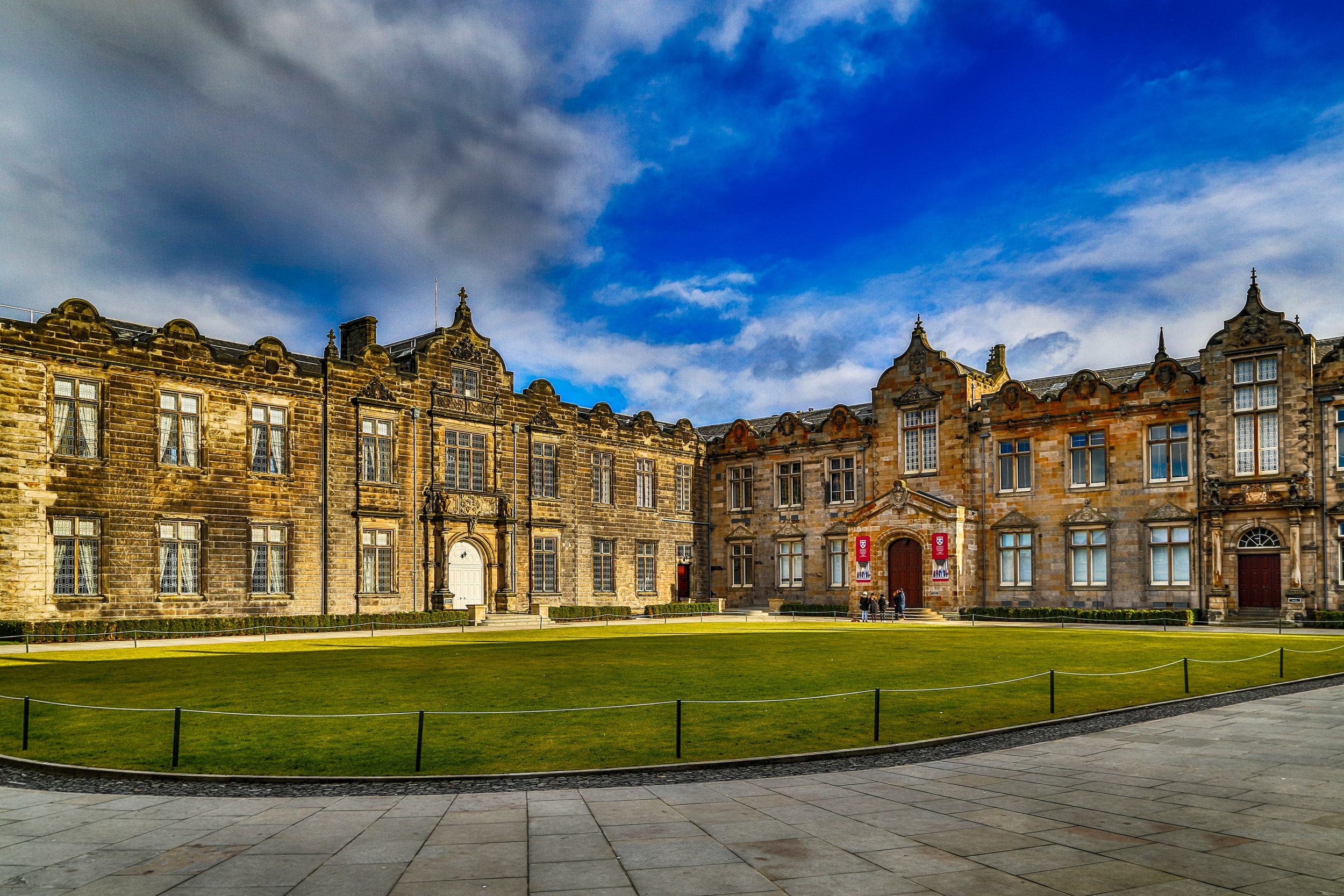The Quad, the University of St Andrews
