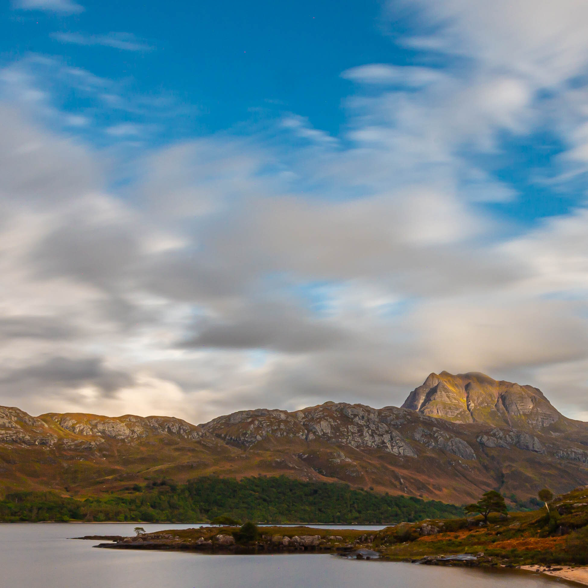 Loch Maree looking across to Slioch