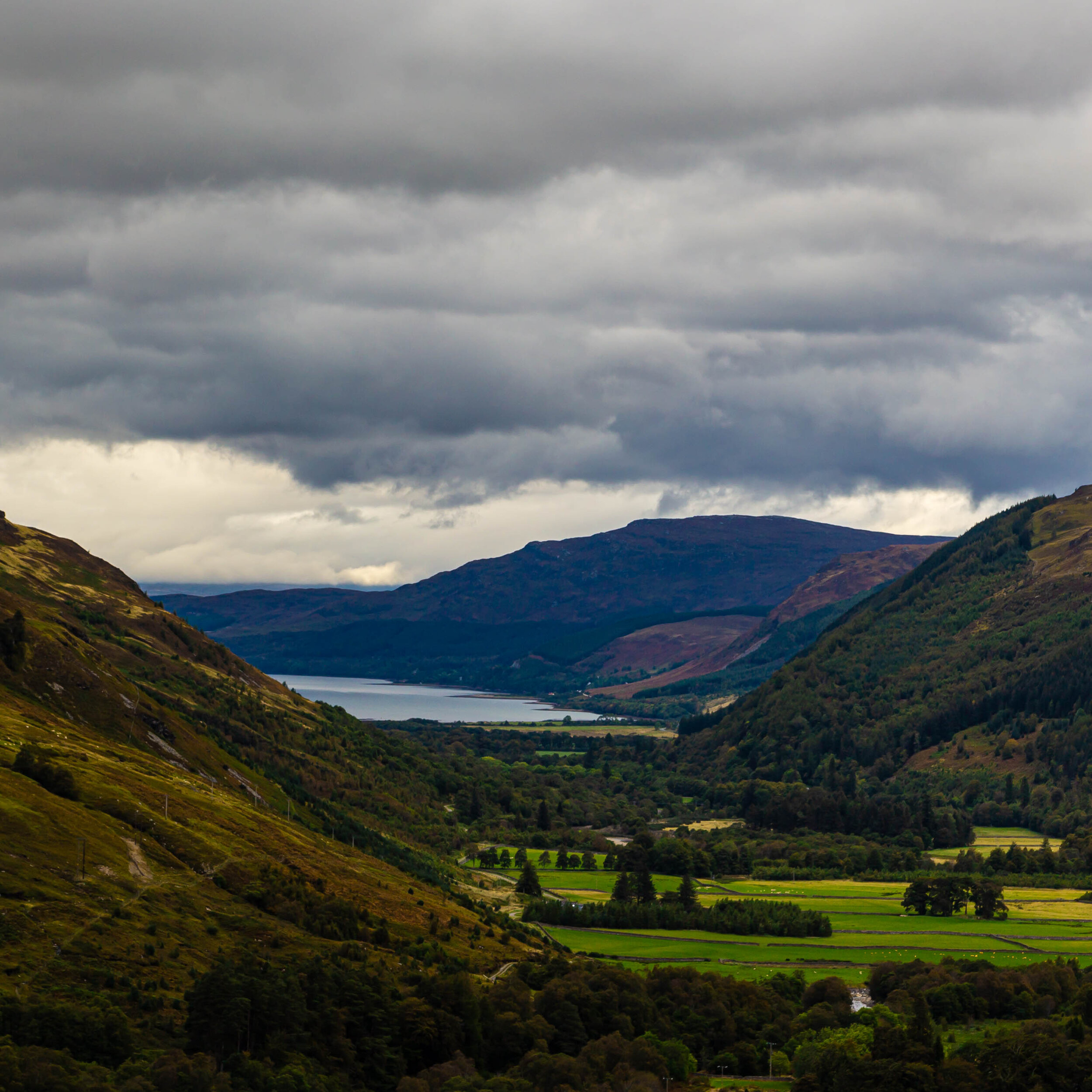 Loch Broom from Corrieshalloch Gorge Natural Nature Reserve