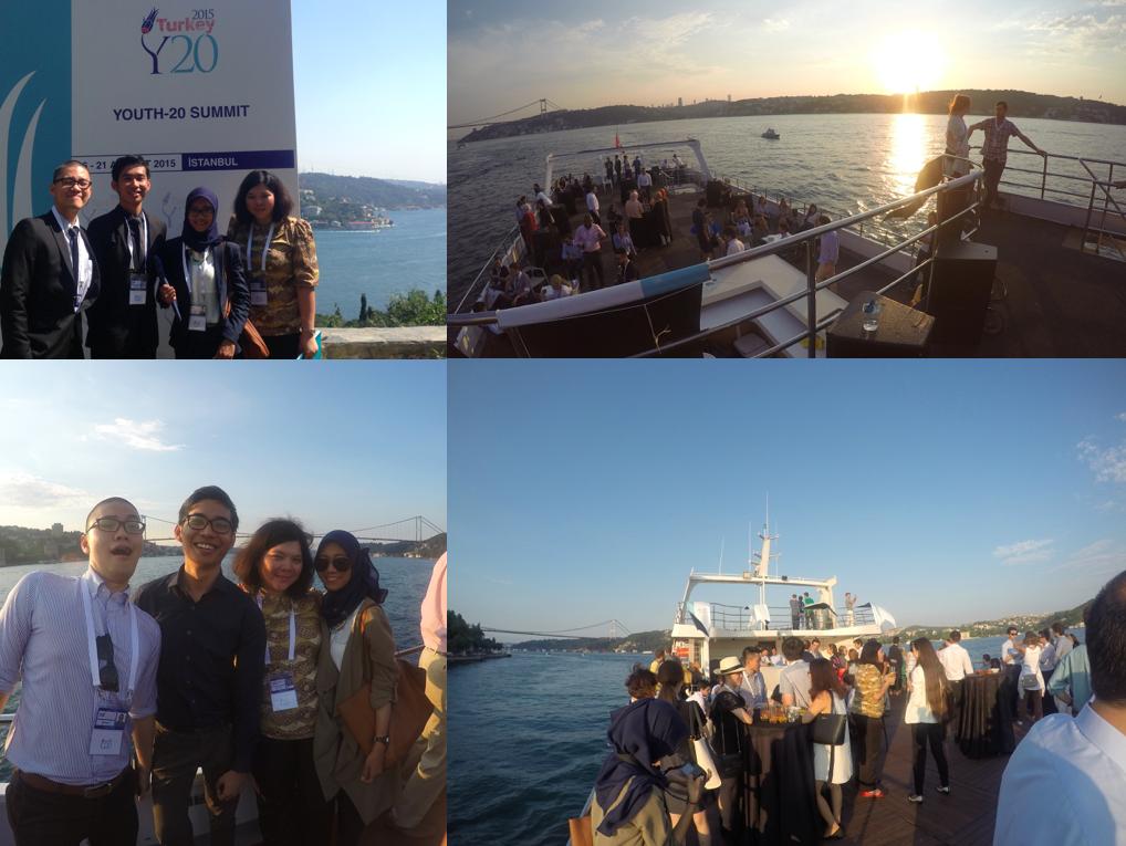 Boat trip on the Bosphorus.