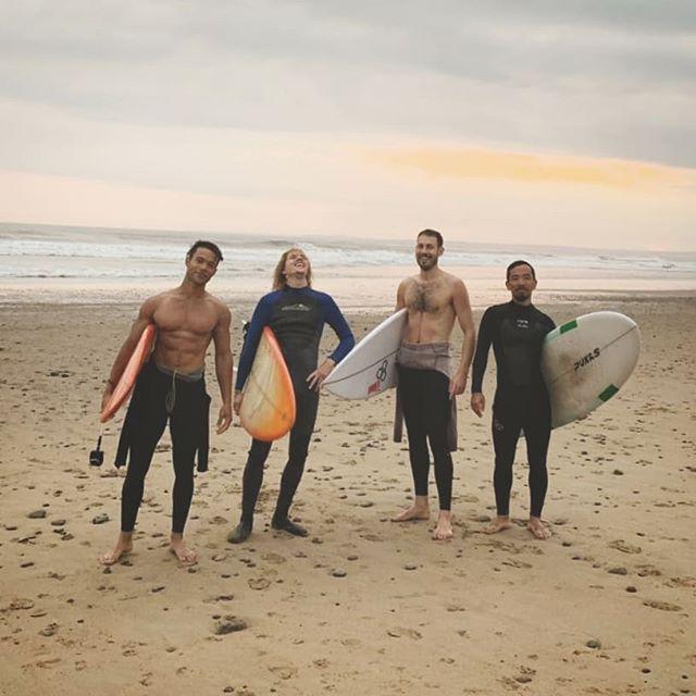 Winter has come - Here's to you summertime 🌄🏴 @djkengosan @mr_t_allen @geraintkinsey #surf #wales #kook