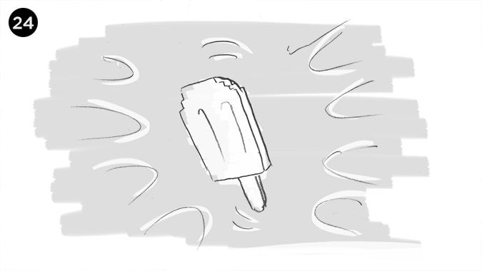 nuestro PIXHELADO se encuentra flotando en el aire, cubierto de una energia