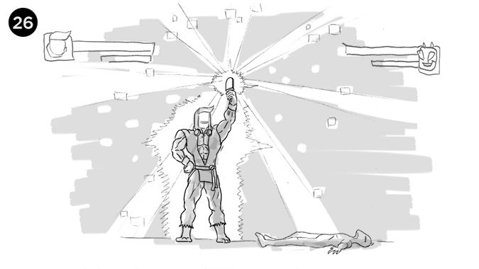 El PIXHELADO al fin le pertenece y lo vemos en una pose de victoria