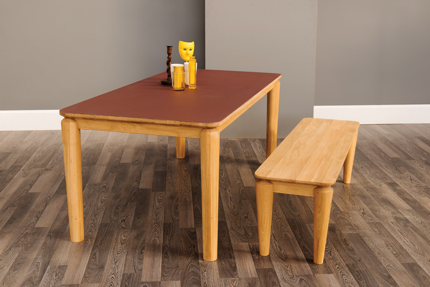 Hongg Dining Table and Bench