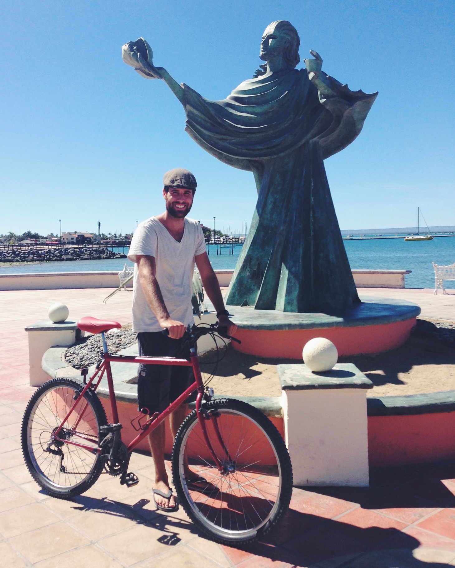 Post-tune-up along the waterfront of La Paz.