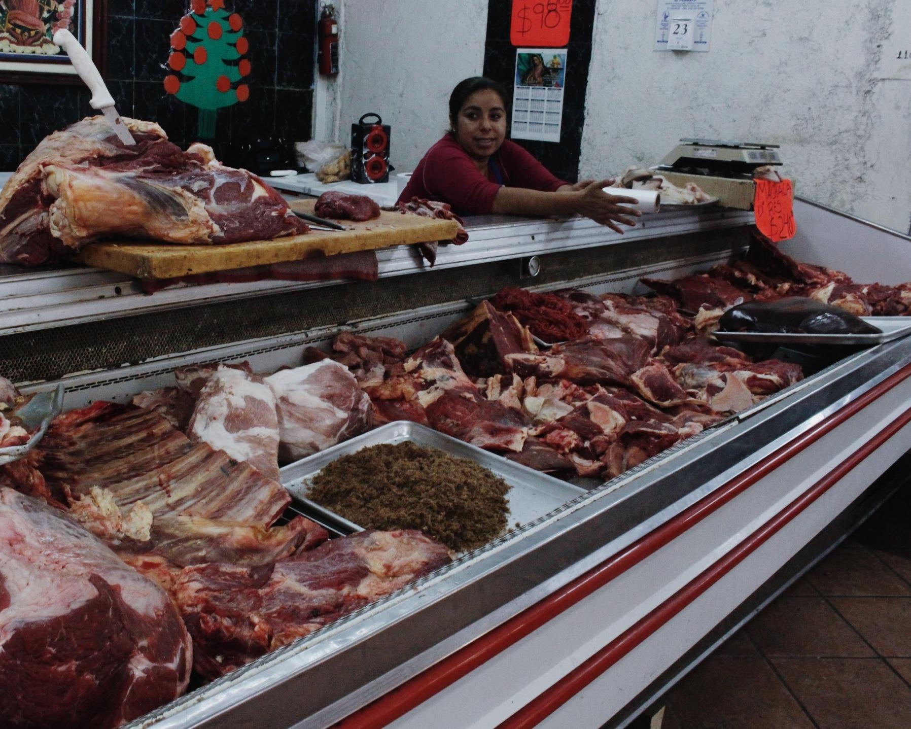 La Paz central market
