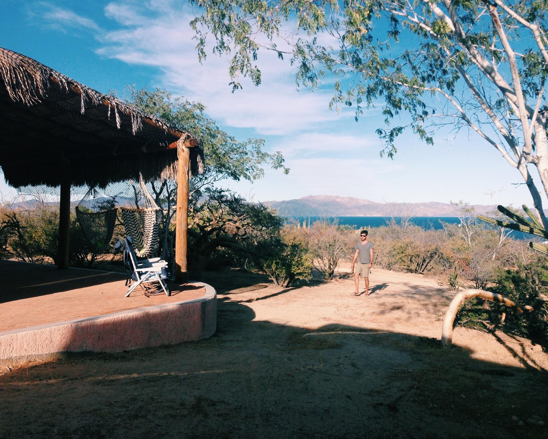 Overlooking Isla Ceralvo