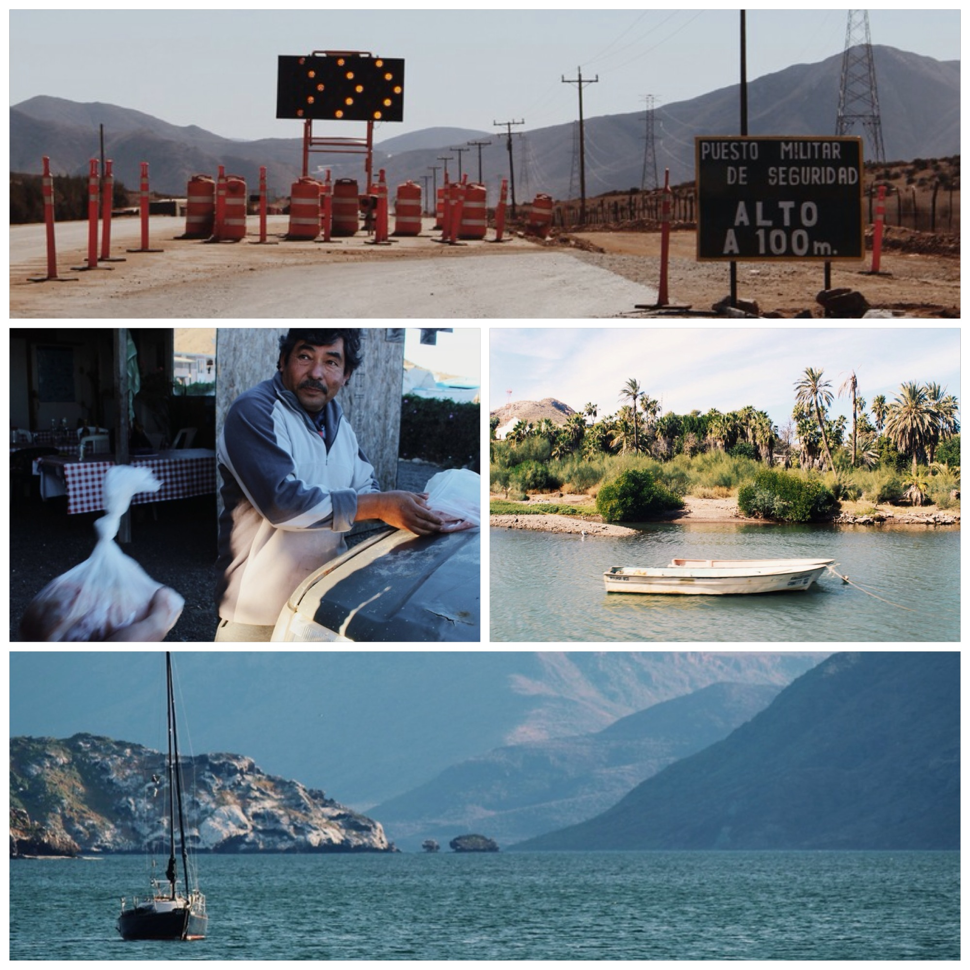 Detours, free fish, the oasis that isMulege and the beauty of Bahia de Conception.