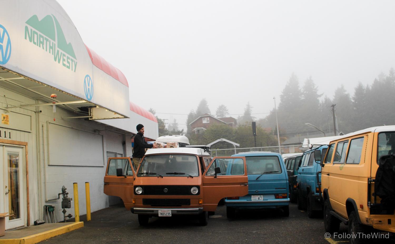 Vanagon NorthWesty Seattle Washinton