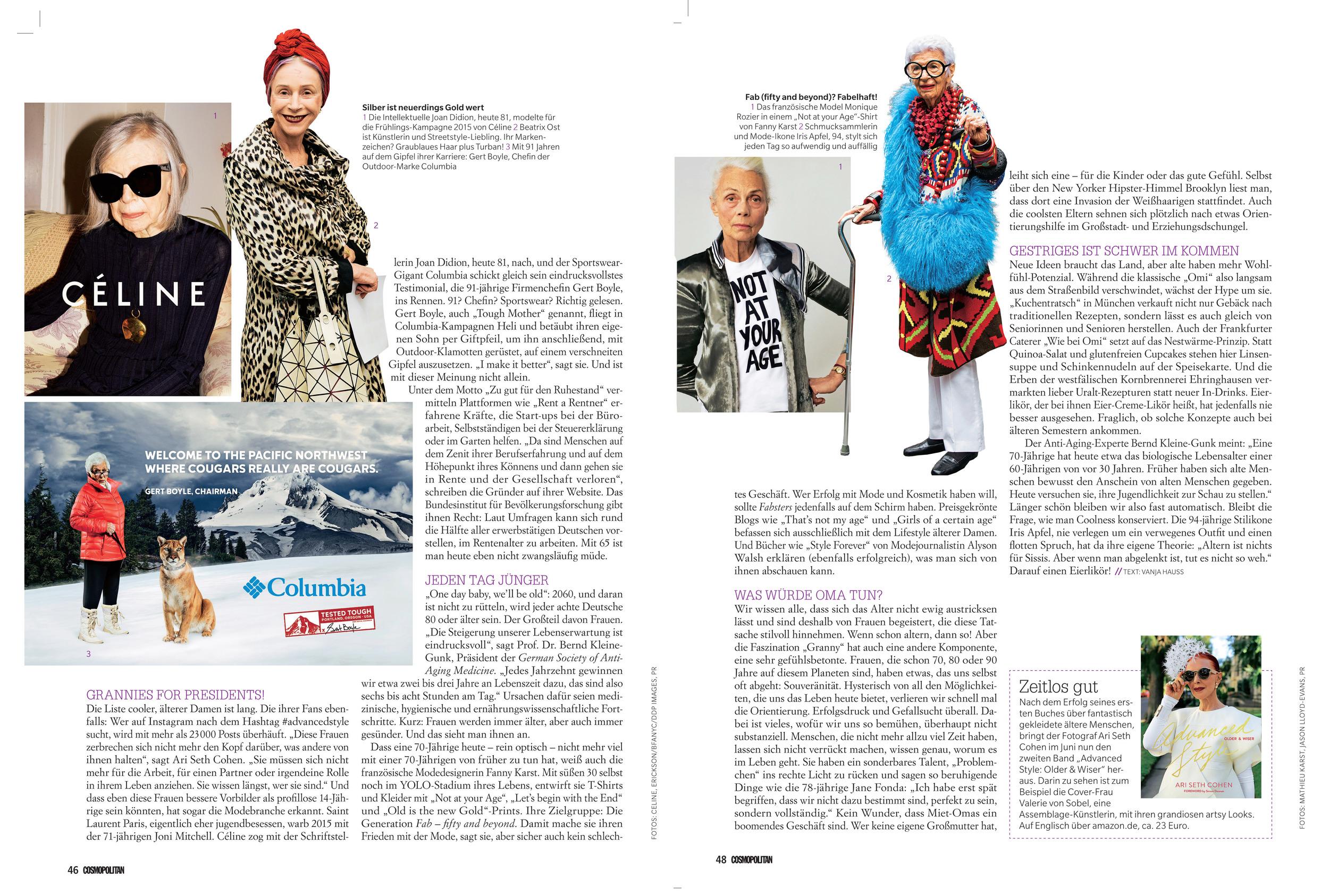 German Cosmopolitan March 2016