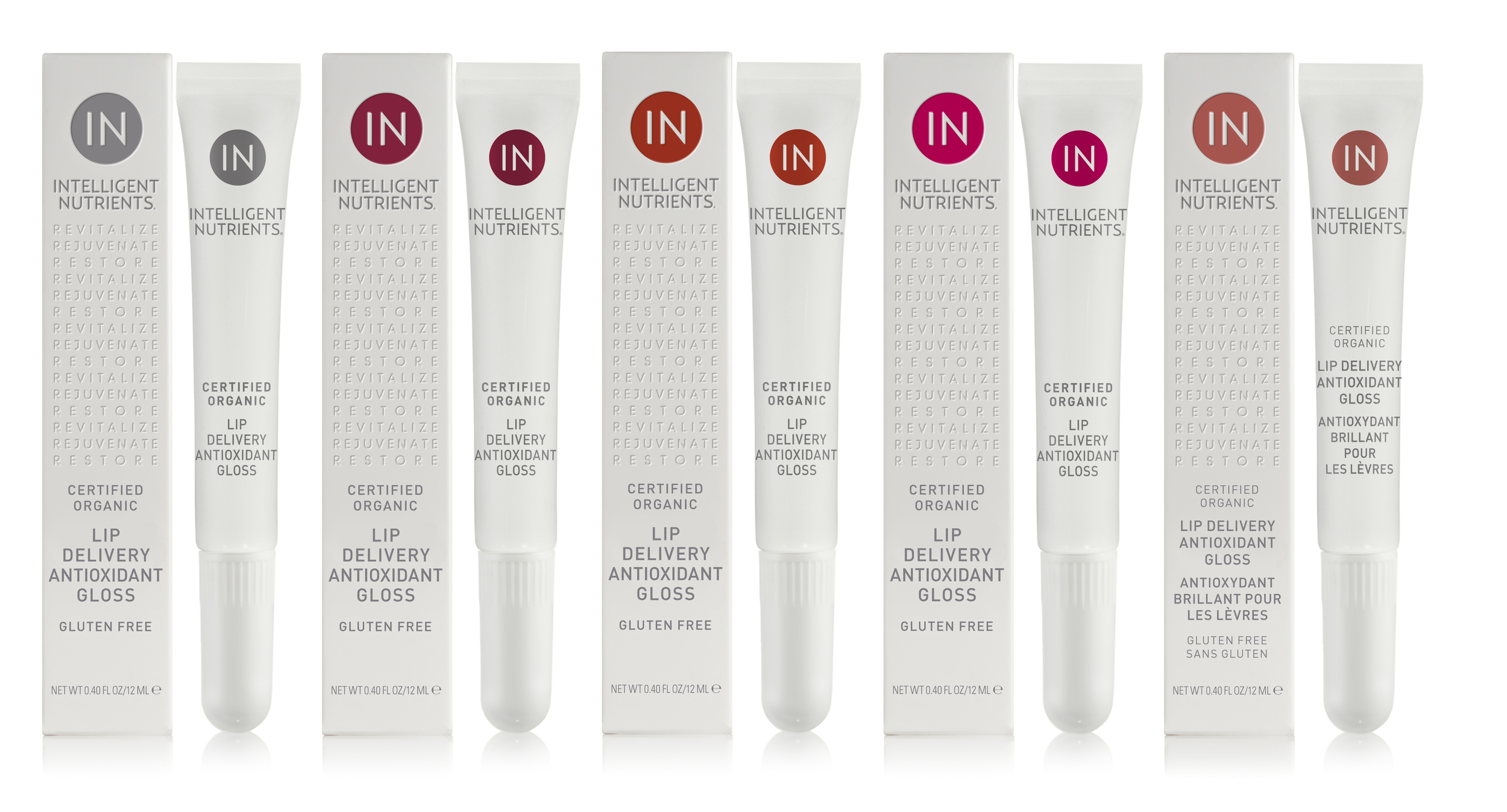 Lip Delivery Antioxidant Gloss Series