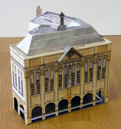 Model of the Shire Hall, Monmouth