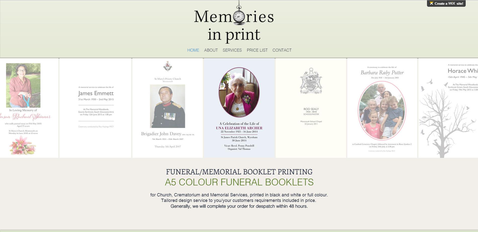 www.memories-inprint.co.uk