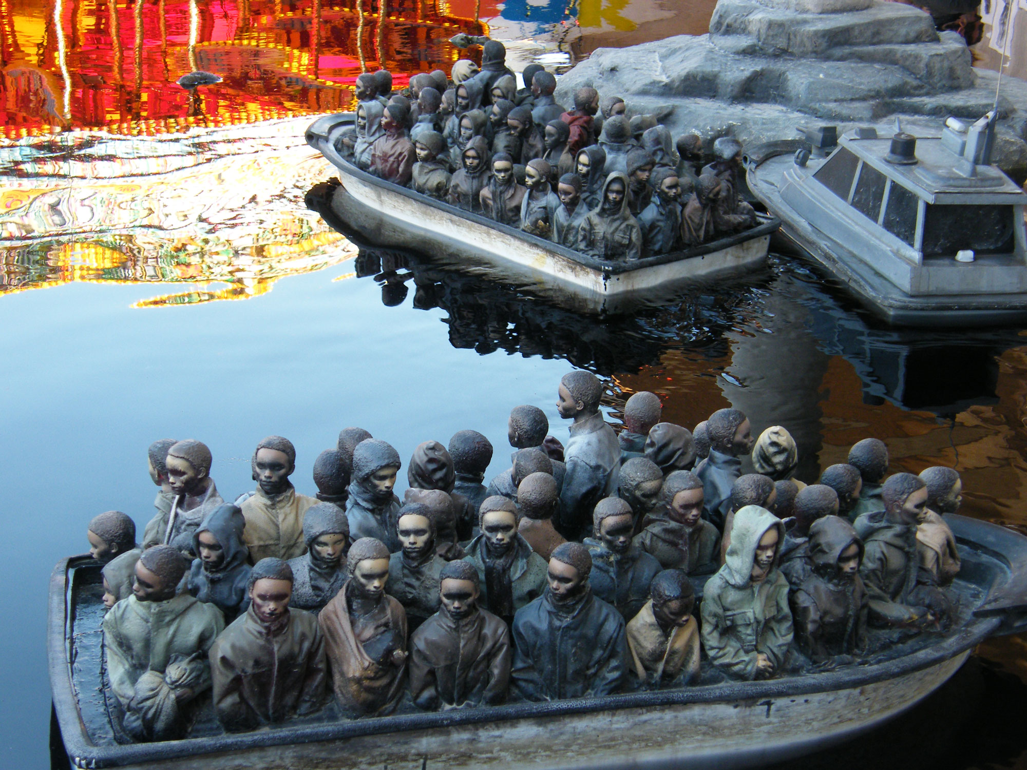 One of the installations at  Dismaland