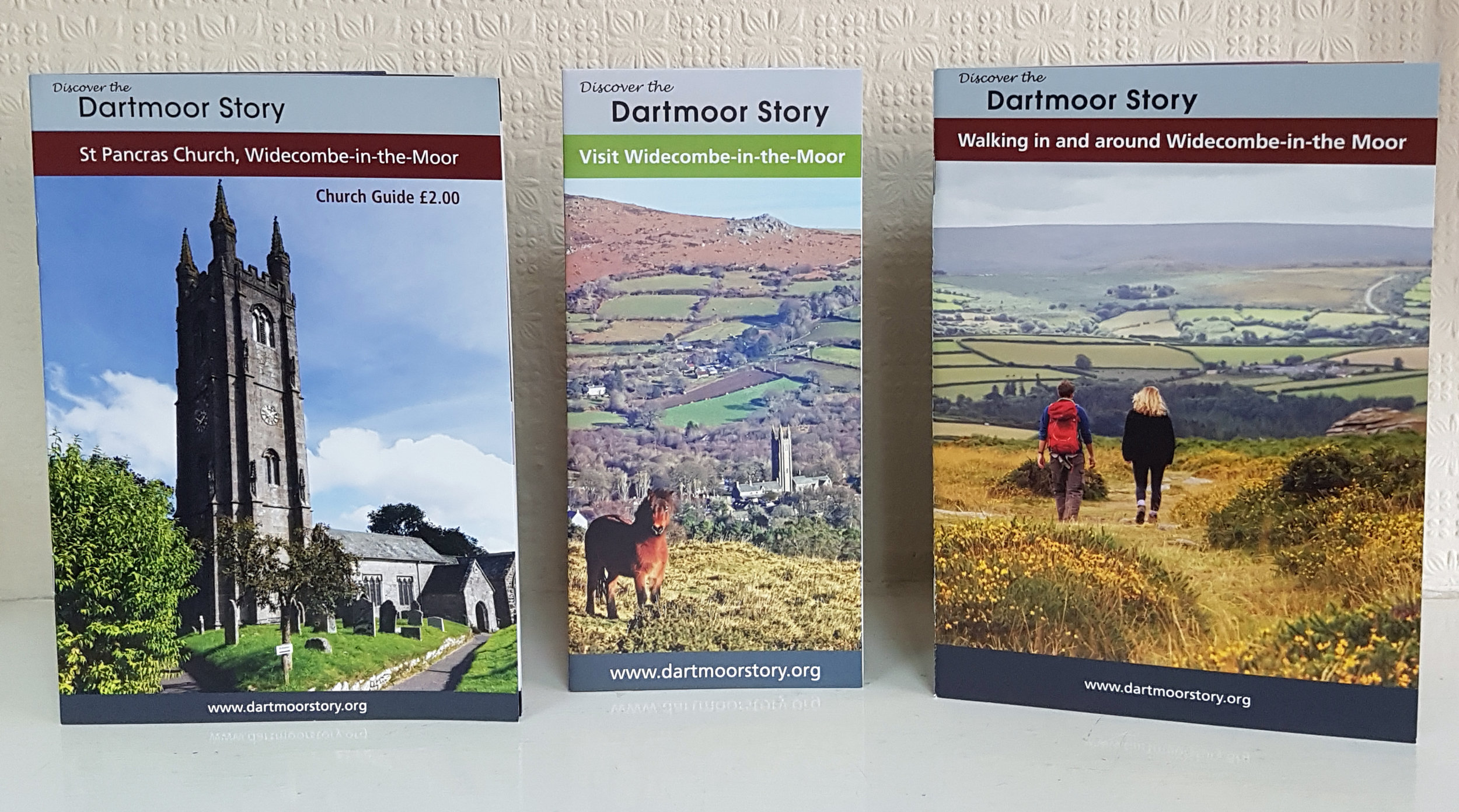 Widecombe leaflets