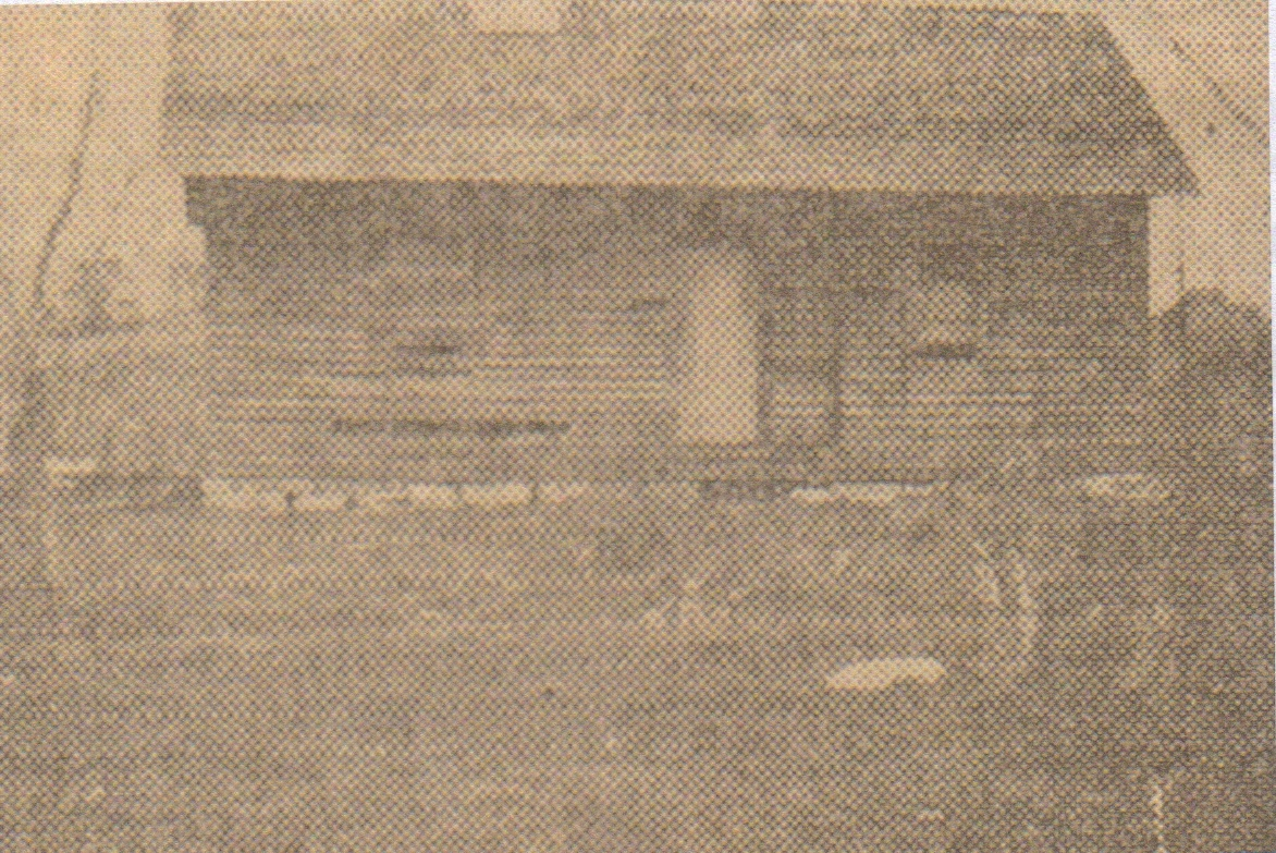 The first dedicated church building, built in 1898. This building still stands today as part of our original structure.