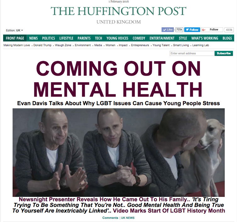 Copy of Lead Story On The Huffington Post