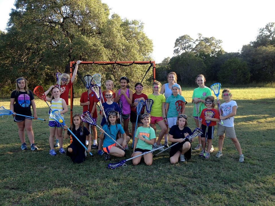 Fall 2013 Founding Members - St. Stephen's Wimberley Girls Lacrosse Club