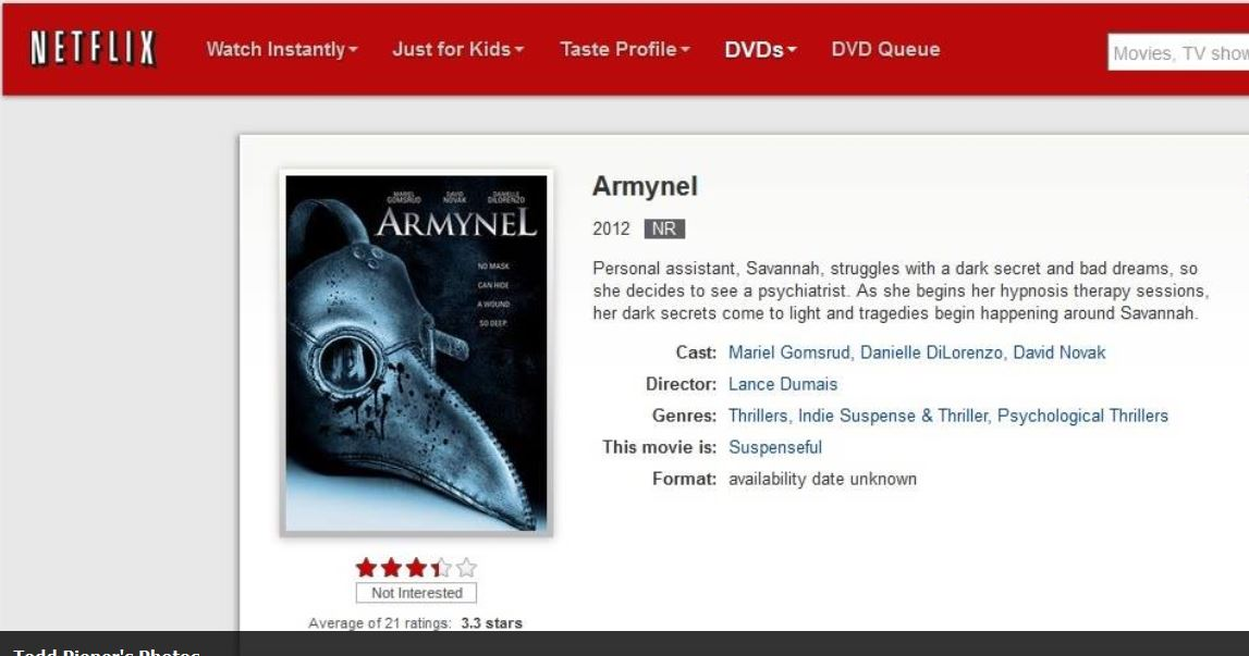 Armynel movie.JPG