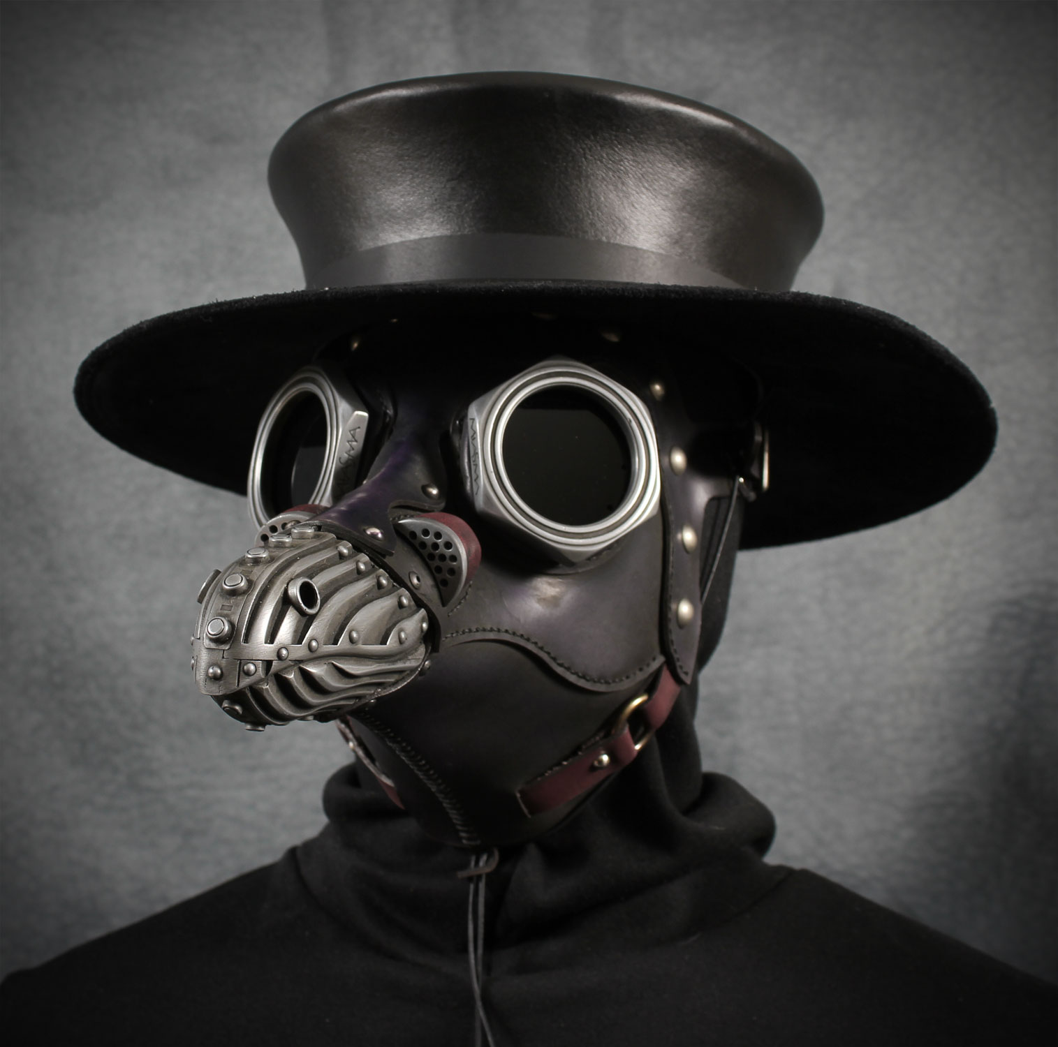 Miasma with plague doctor hat