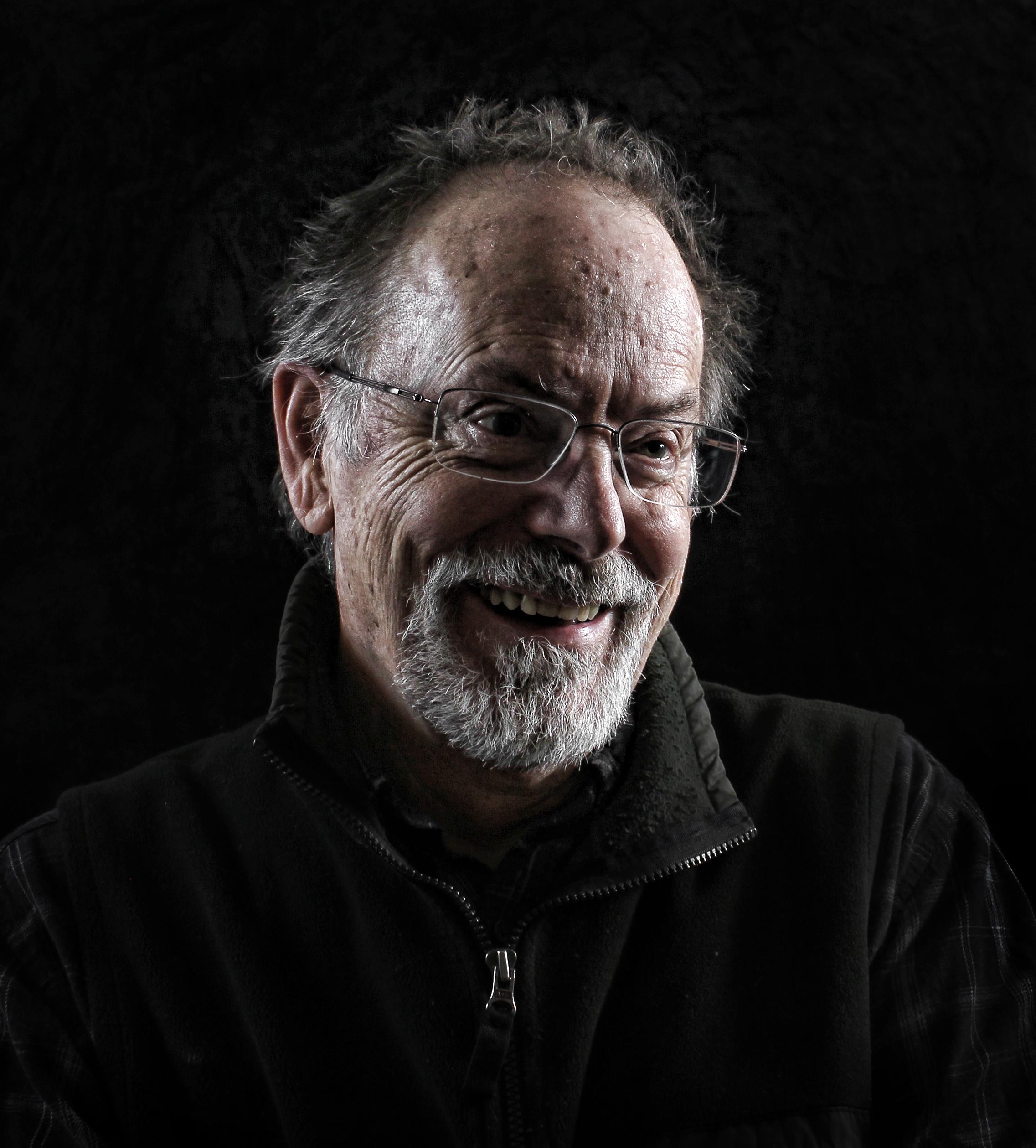A self portrait of California leather artist Tom Banwell