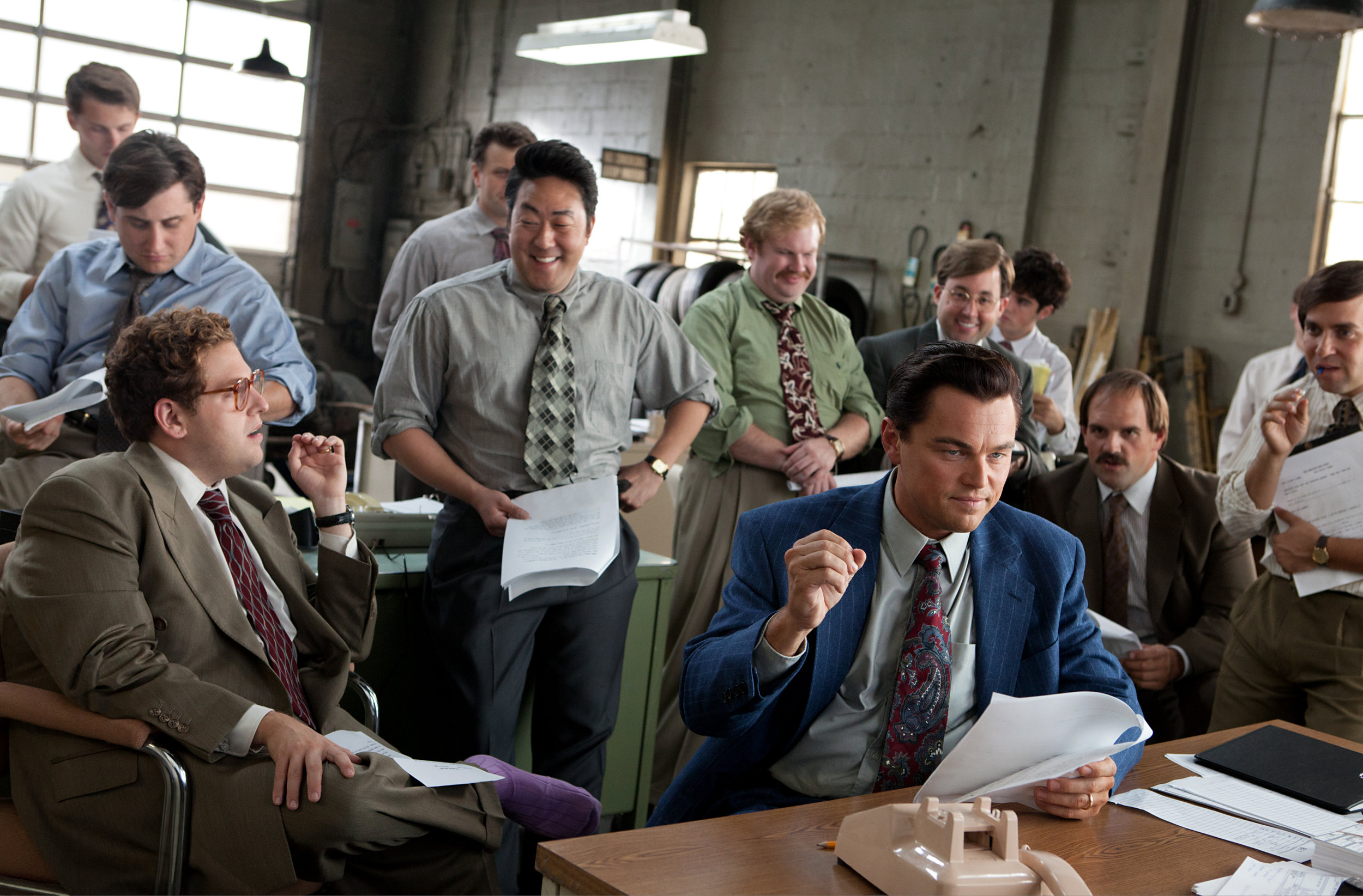 "2013: Honorable Mention ""The Wolf of Wall Street"""